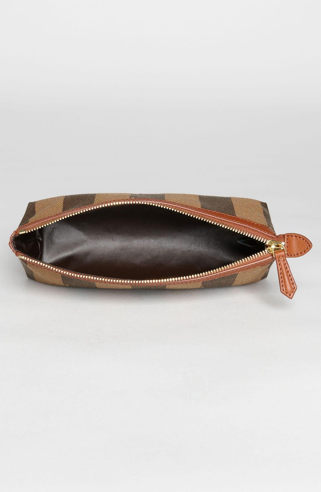 Alternate Image 3  - Fendi 'Pequin - Large' Cosmetics Case