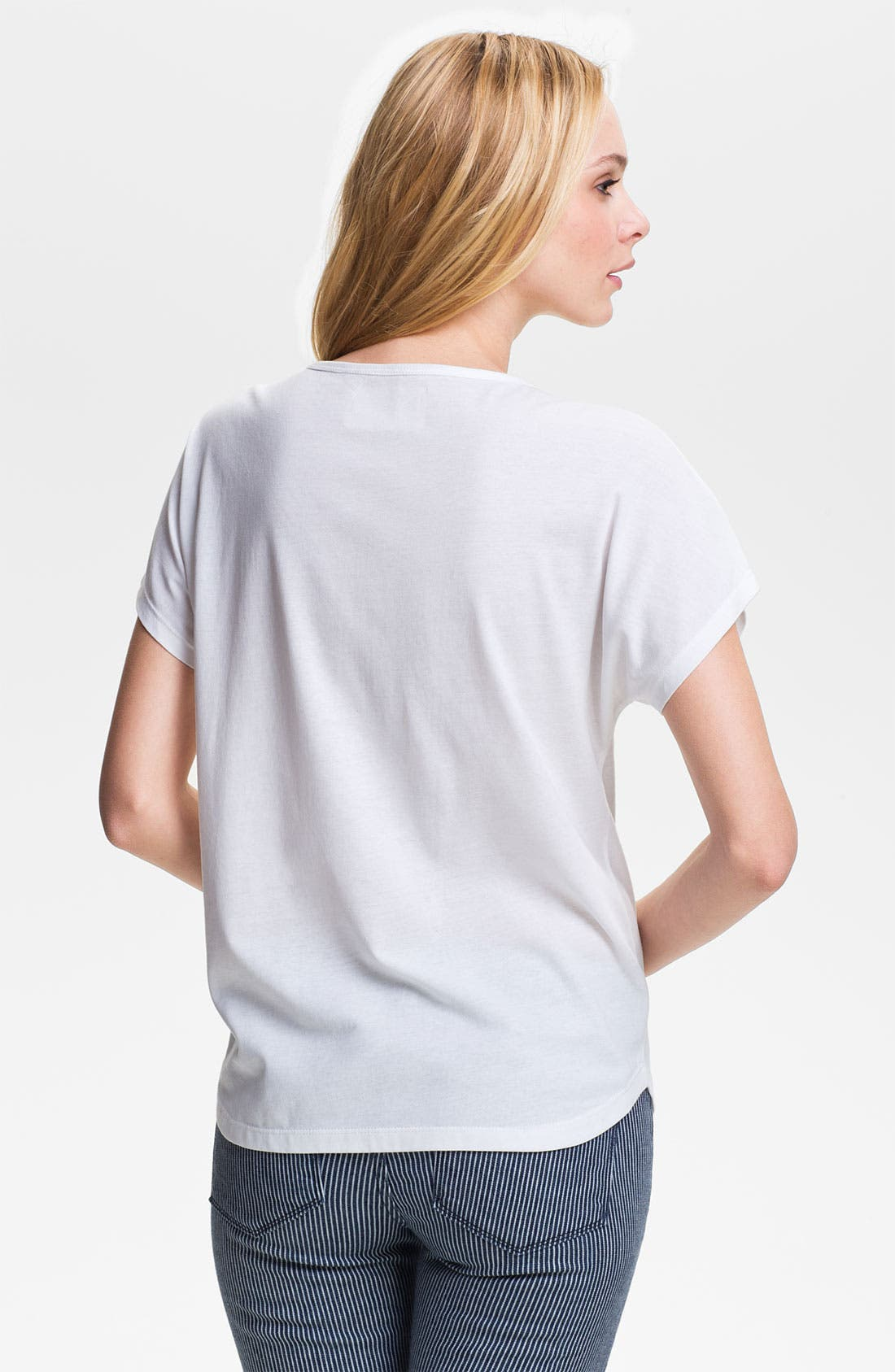 Alternate Image 2  - Two by Vince Camuto 'J'Aime Deux' Tee