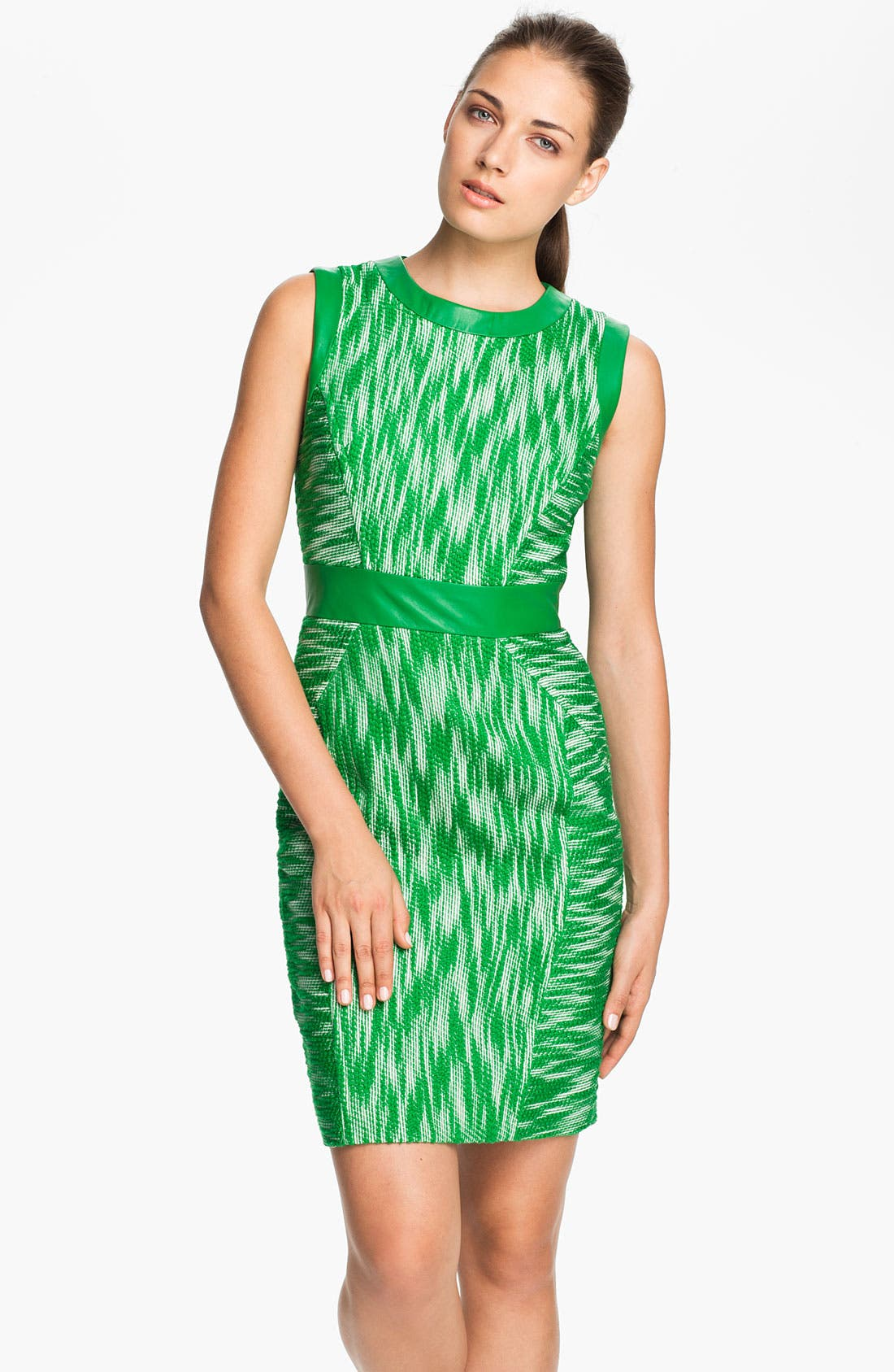 Main Image - Milly Woven Sheath Dress