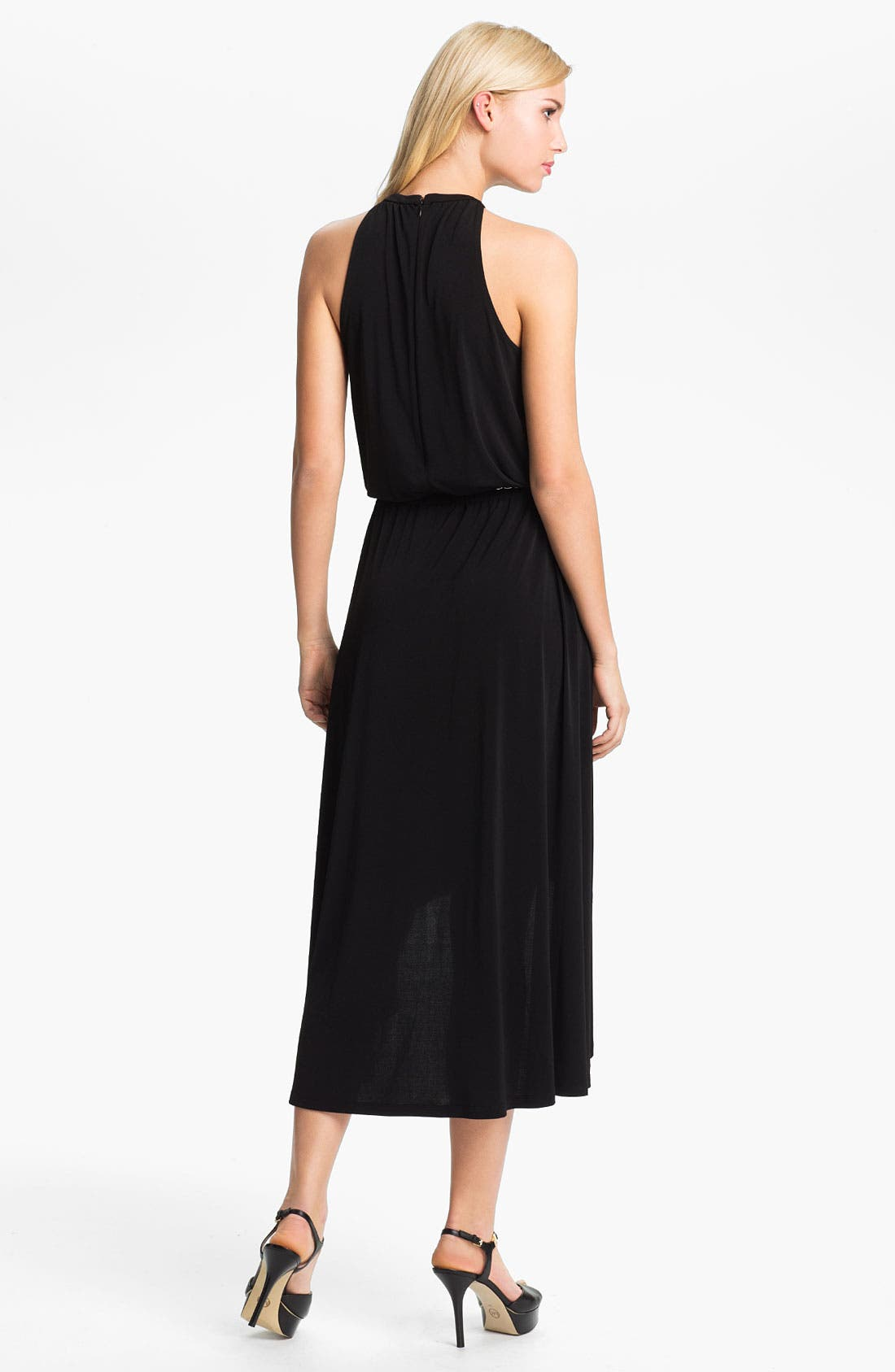 Alternate Image 2  - MICHAEL Michael Kors Elliptical Hem Dress