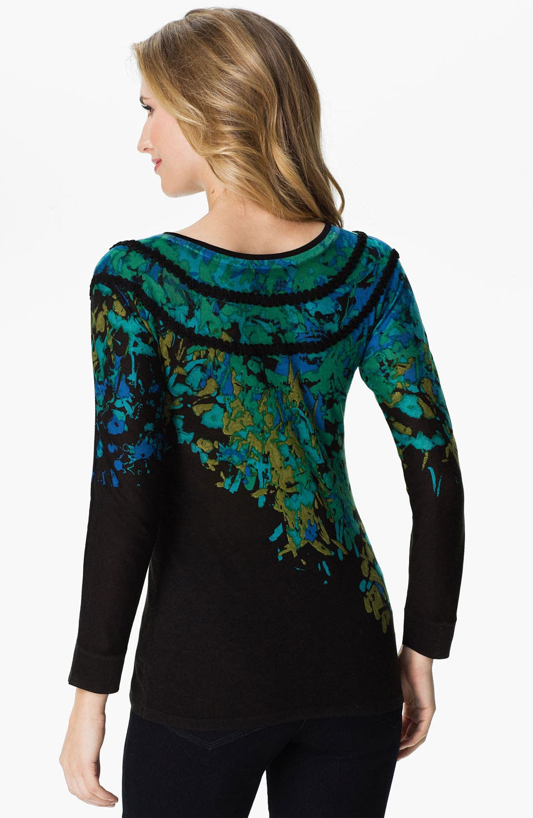 Alternate Image 2  - Nic + Zoe 'Fantasy' Sweater