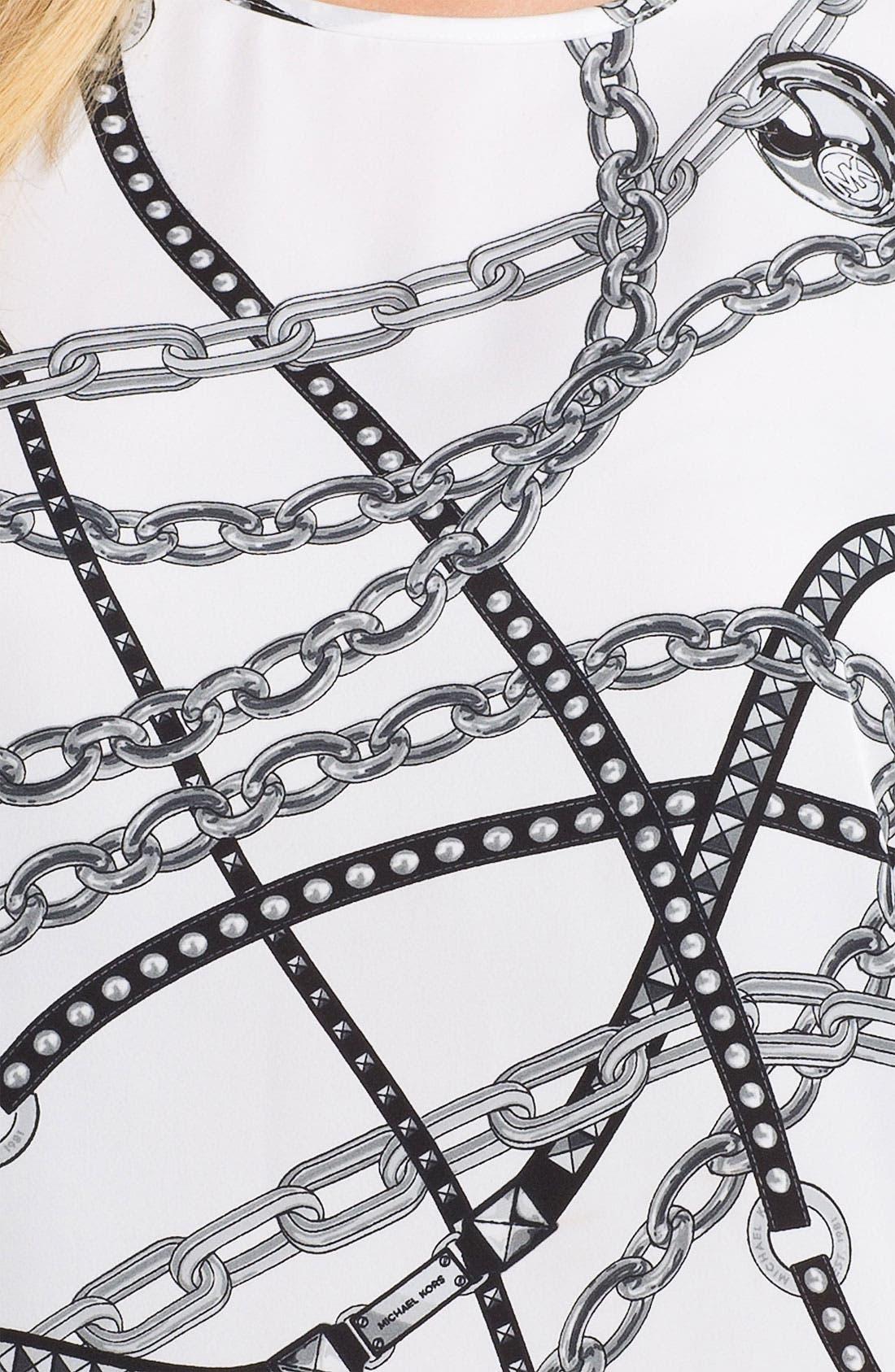 Alternate Image 3  - MICHAEL Michael Kors Chain Print Tee