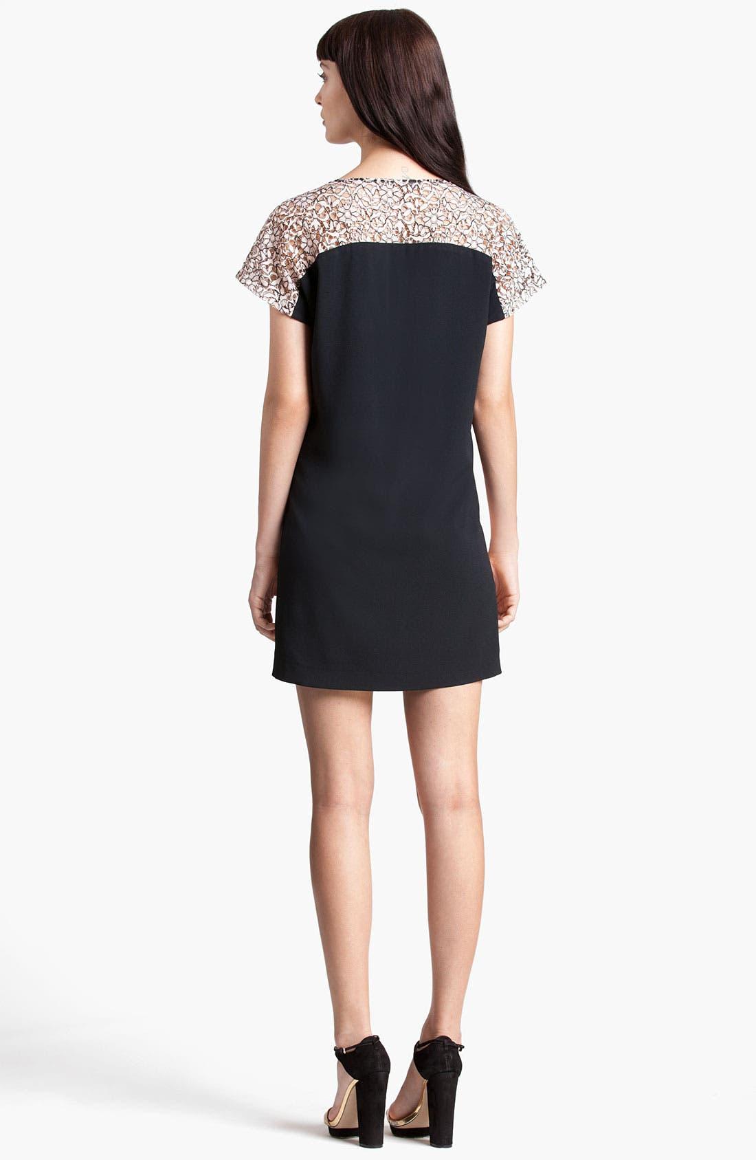 Alternate Image 2  - MSGM Lace Yoke Dress