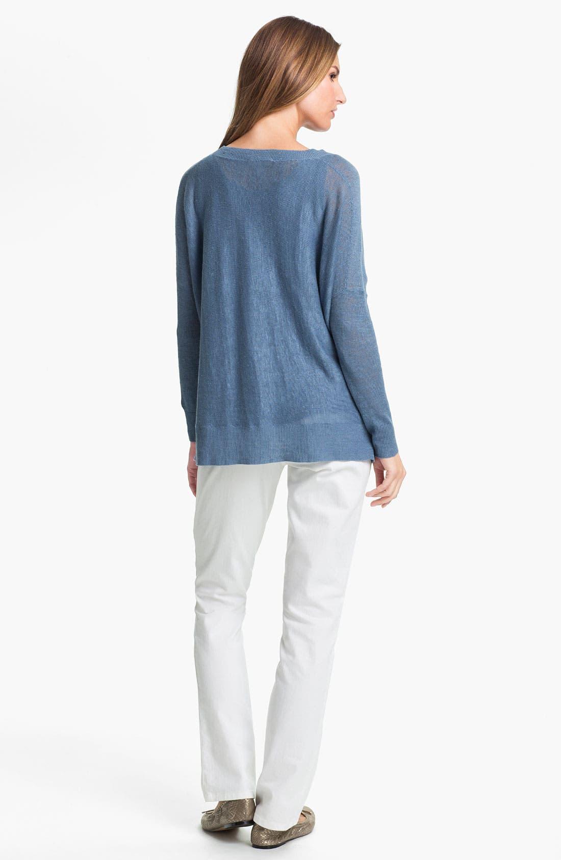 Alternate Image 5  - Eileen Fisher Lightweight Linen Tunic