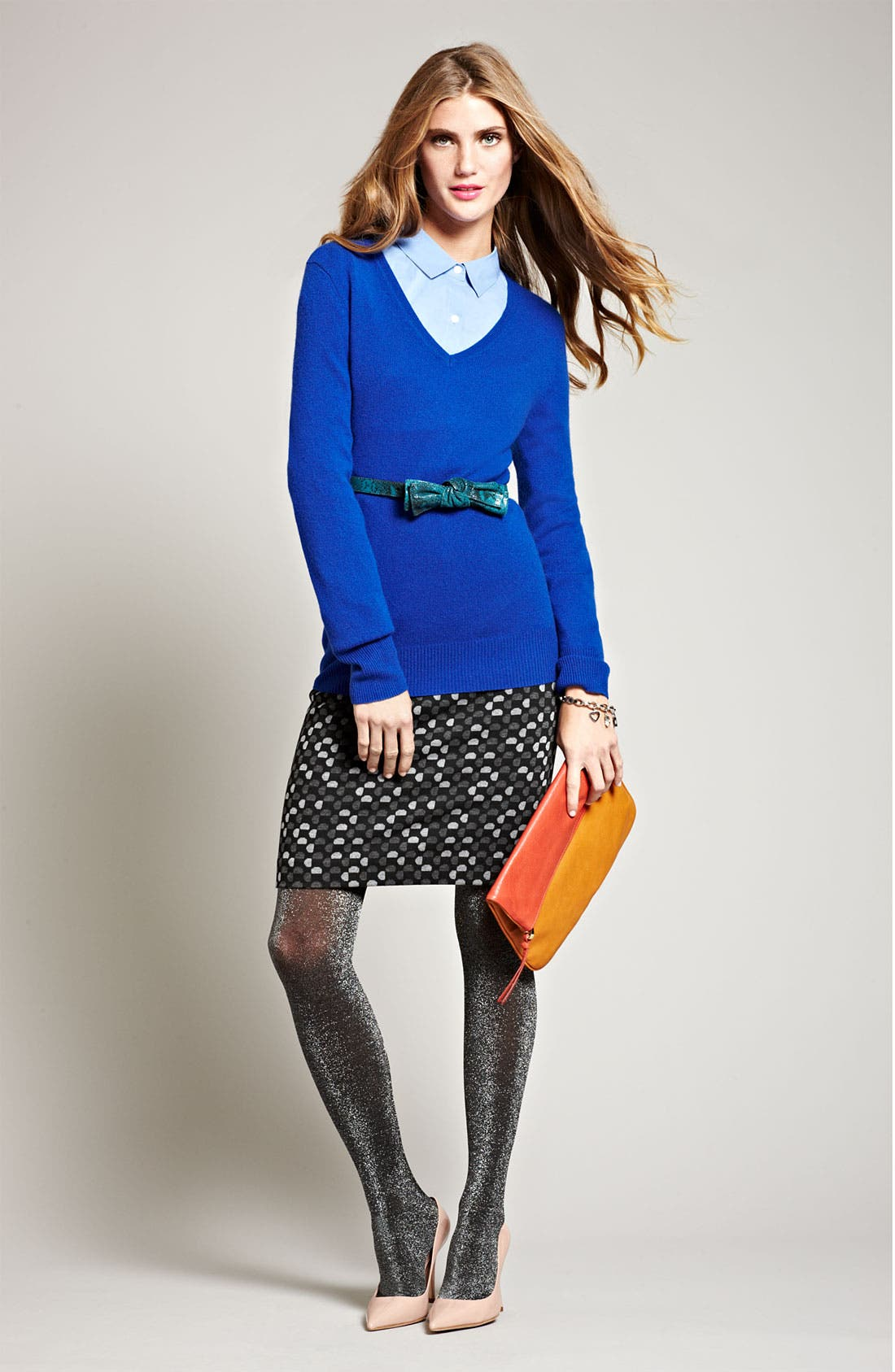 Alternate Image 4  - Halogen® Ponte Pencil Skirt