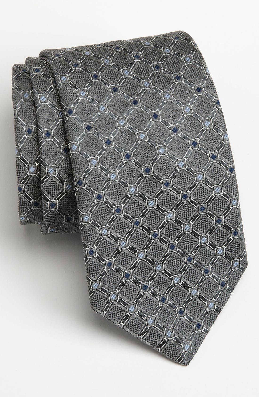 Main Image - John W. Nordstrom® Woven Silk Tie