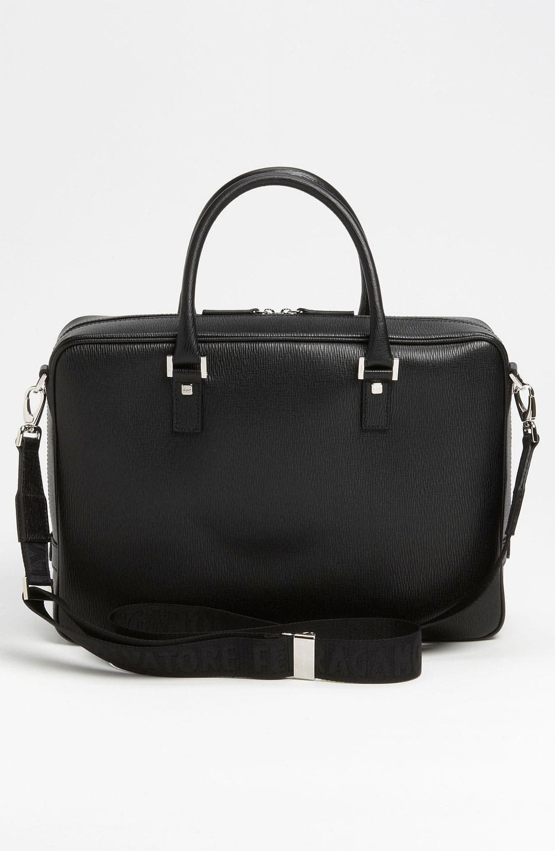 Alternate Image 3  - Salvatore Ferragamo Calfskin Briefcase