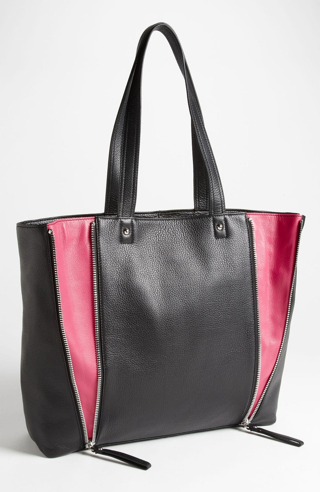 Main Image - Halogen® 'Zooey' Leather Tote