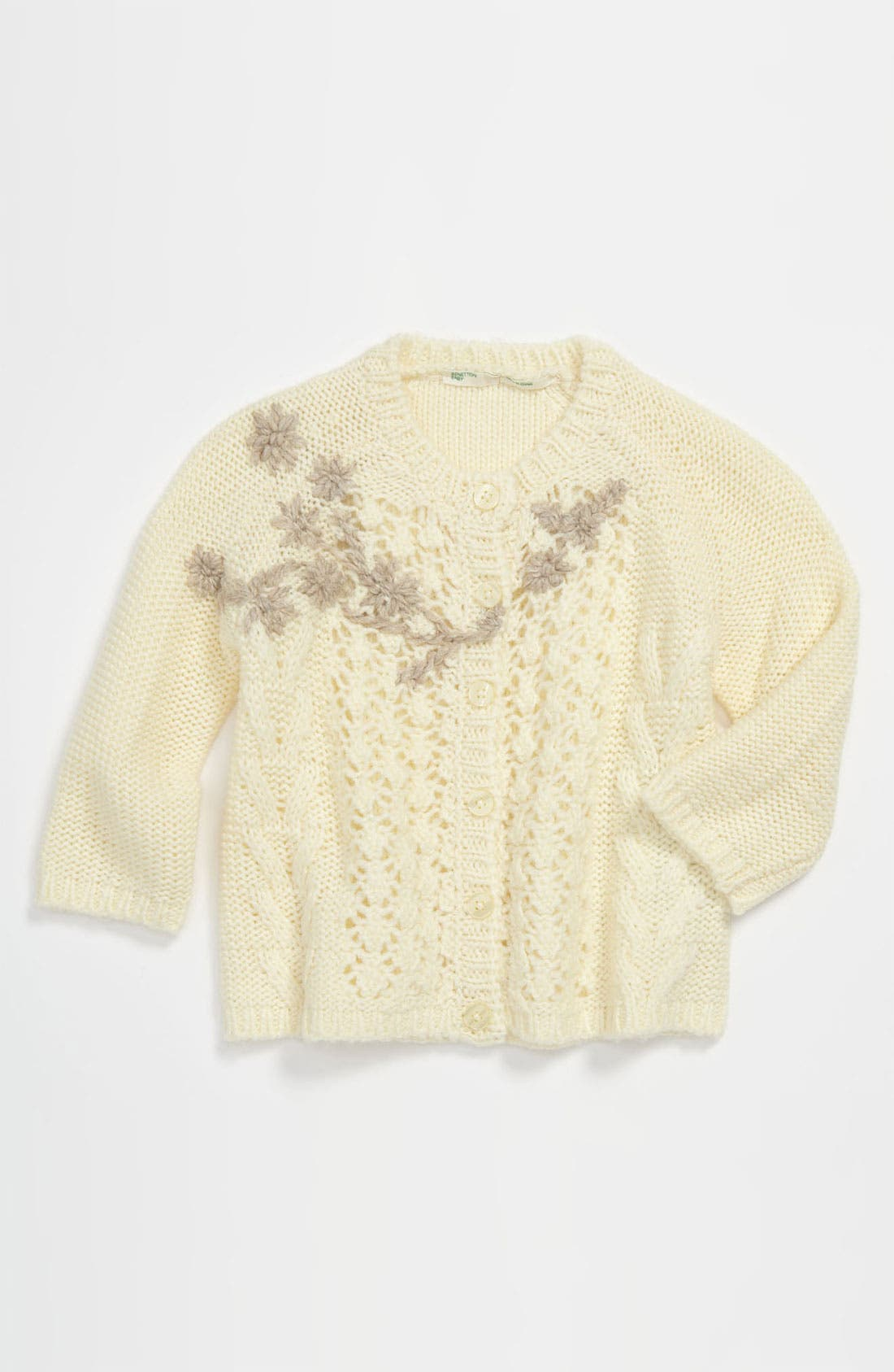 Main Image - United Colors of Benetton Kids Sweater (Infant)