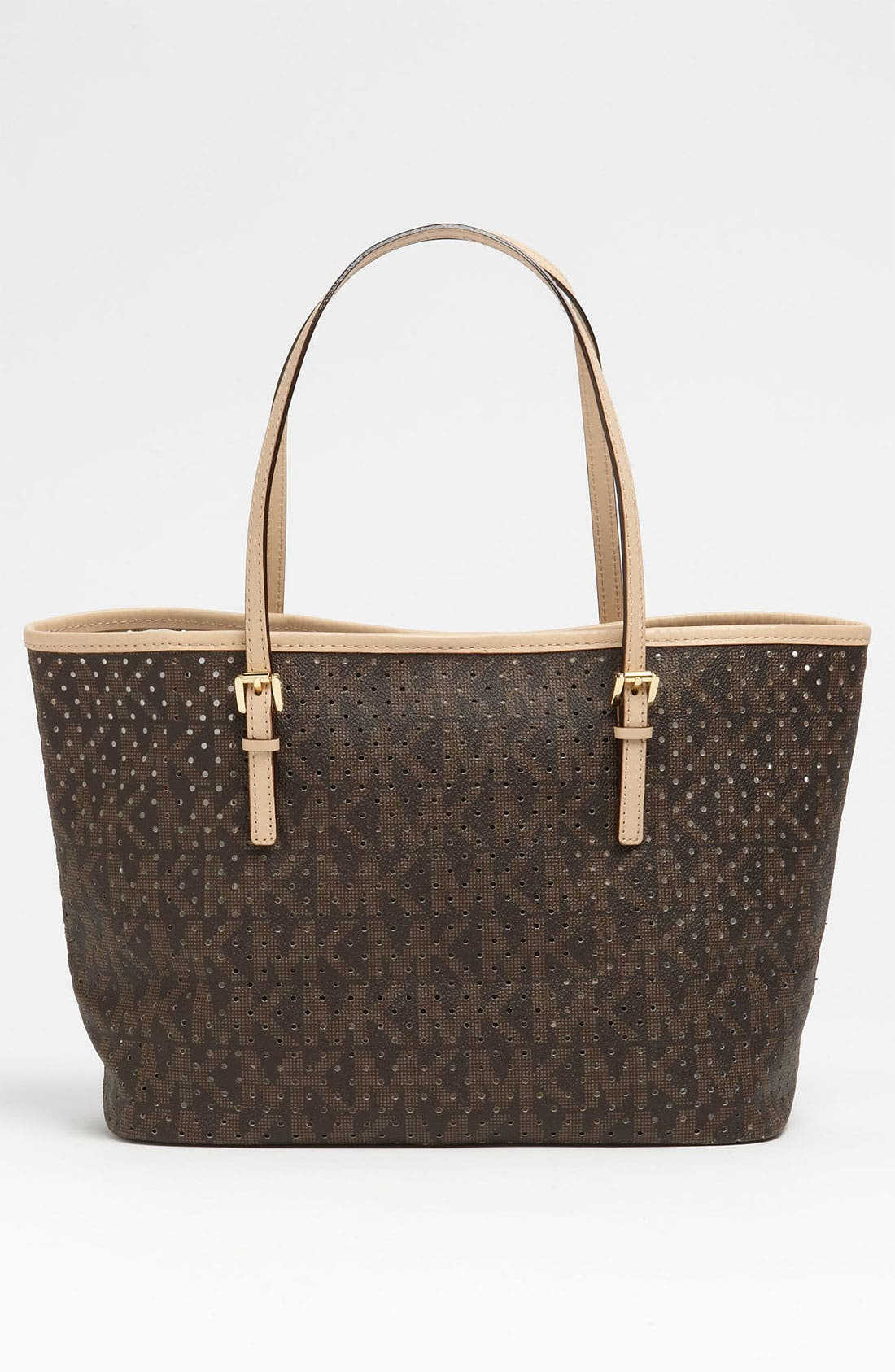 Alternate Image 4  - MICHAEL Michael Kors 'Signature - Small' Perforated Tote