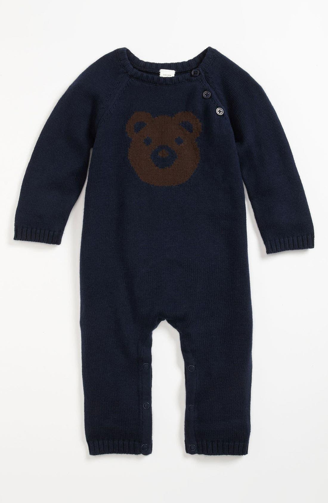 Main Image - Nordstrom Baby Knit Romper (Infant)