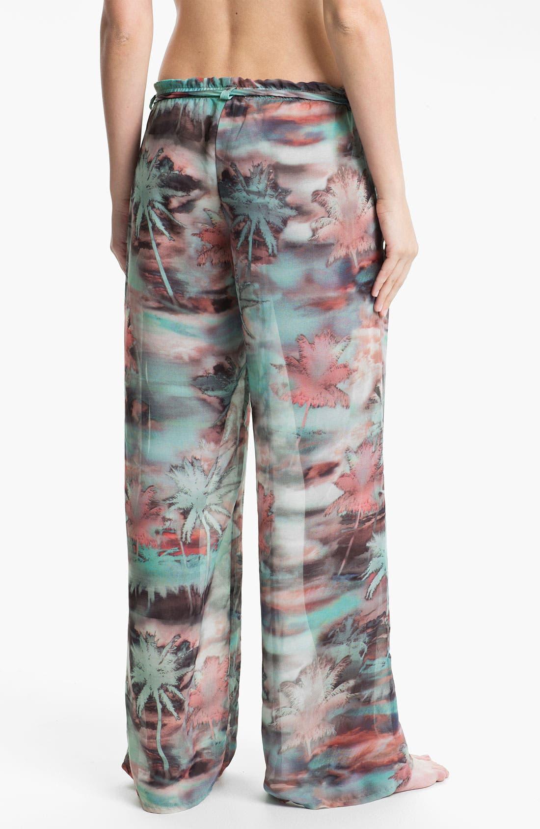 Alternate Image 2  - Luxe by Lisa Vogel 'Resortist' Cover-Up Pants