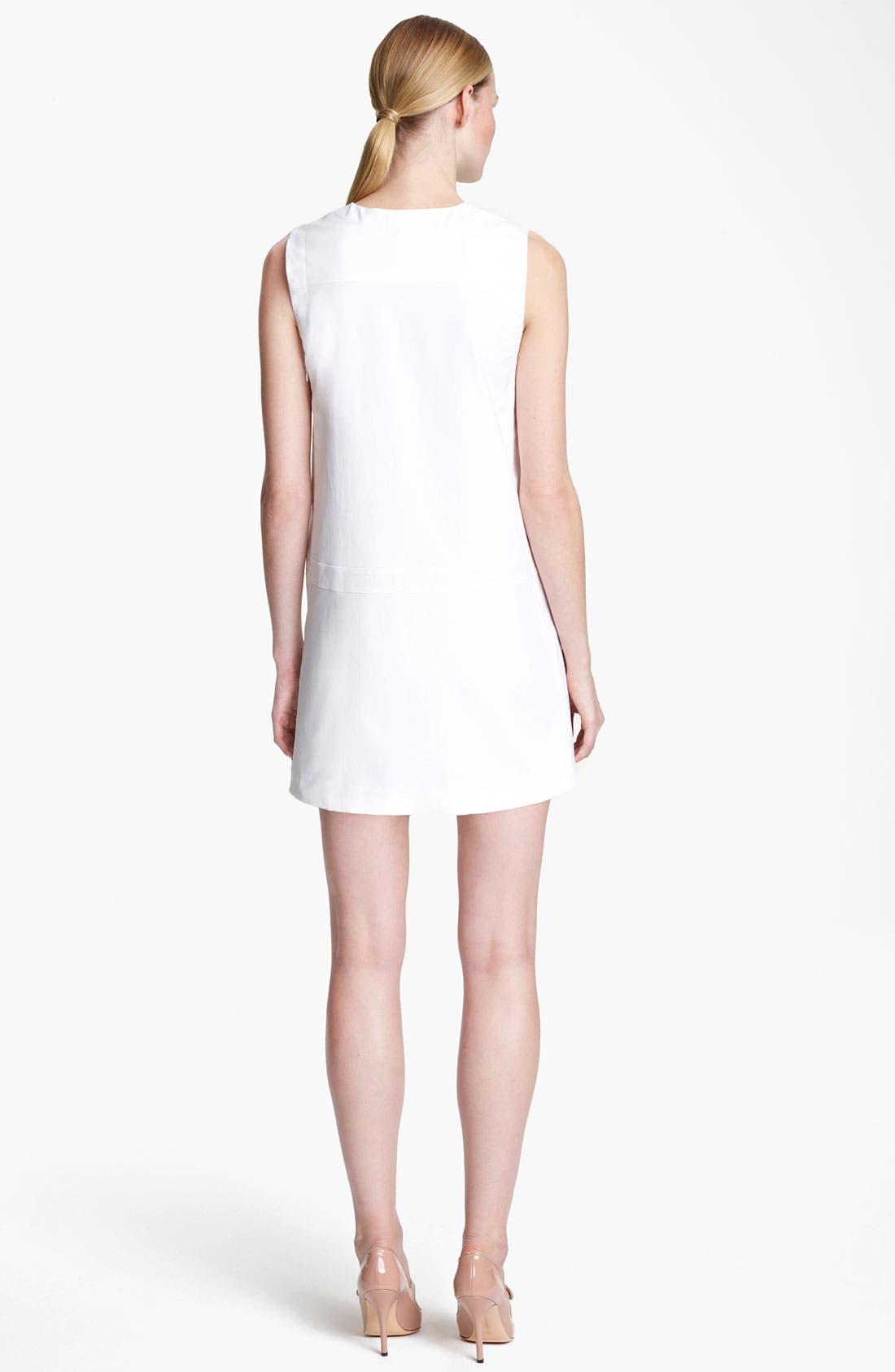 Alternate Image 2  - Jil Sander Stretch Cotton Dress