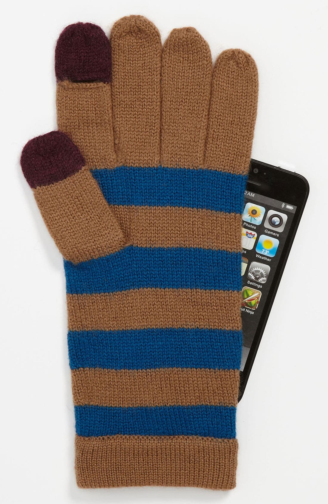 Main Image - MARC BY MARC JACOBS 'MBMJ' Merino Wool Tech Gloves