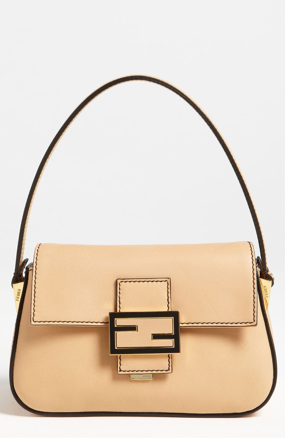 Alternate Image 1 Selected - Fendi 'Mamma - Mini' Leather Shoulder Bag