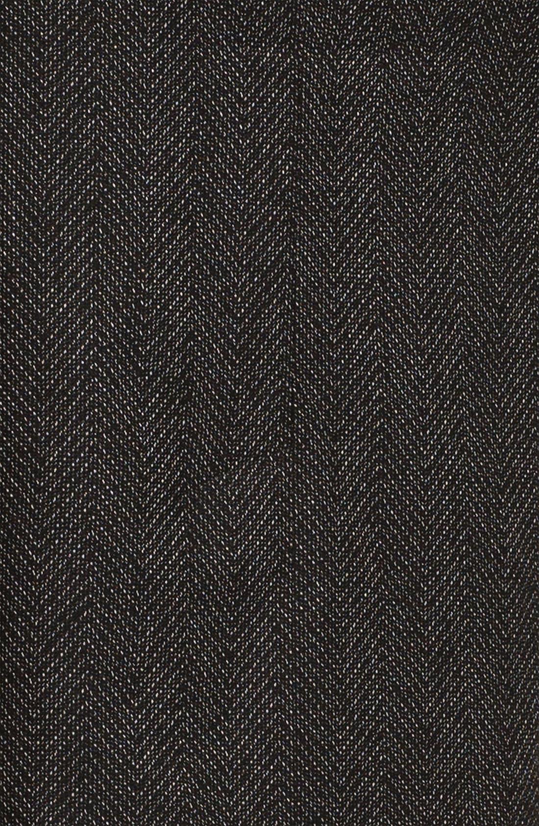 Alternate Image 3  - Halogen® Faux Leather Tie Pencil Skirt (Petite)