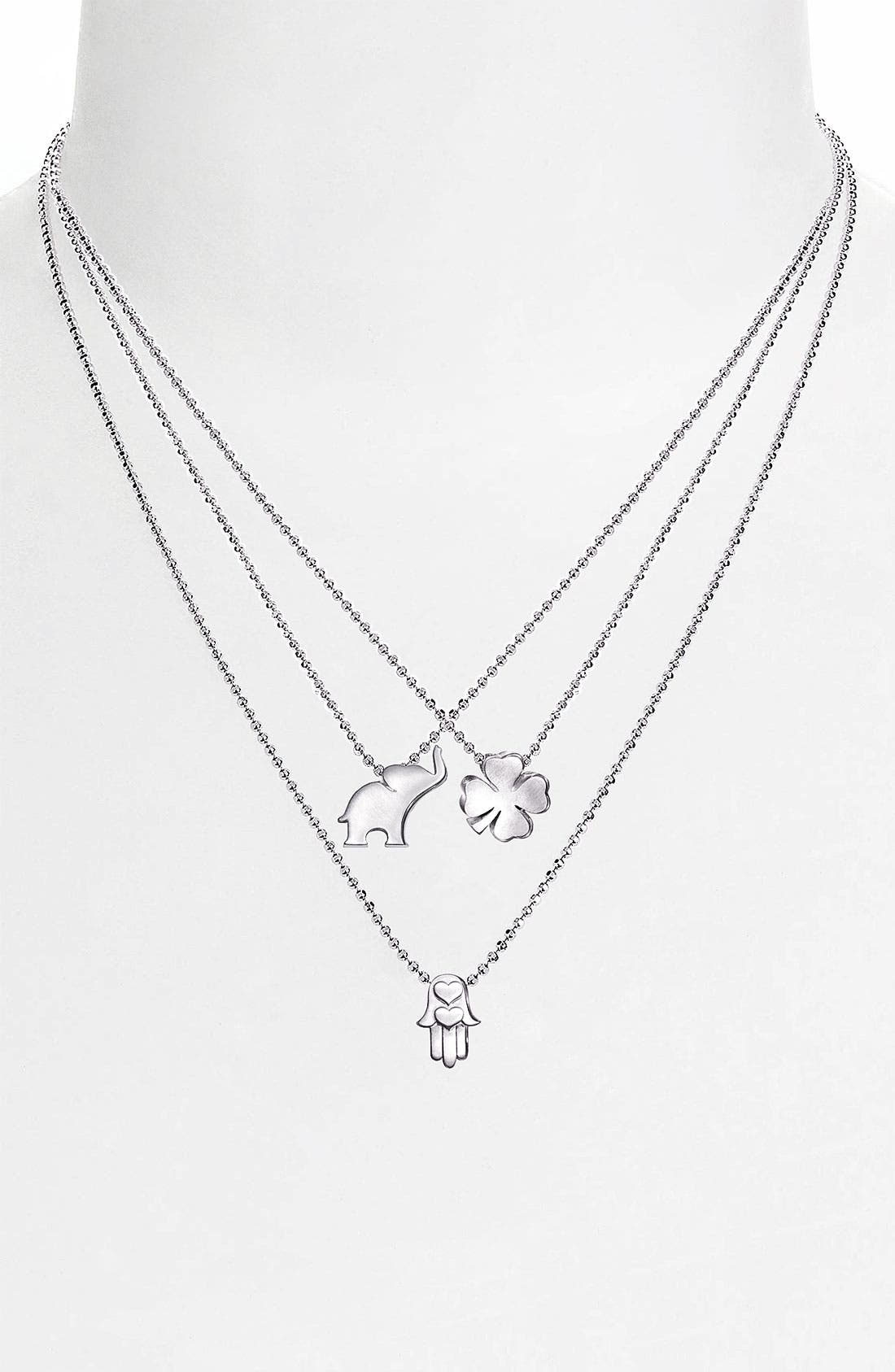 Alternate Image 3  - Alex Woo 'Little Luck' Pendant Necklace