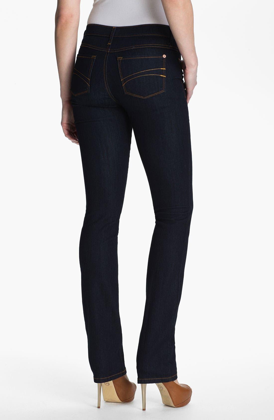 Alternate Image 2  - Second Yoga Jeans Straight Leg Jeans