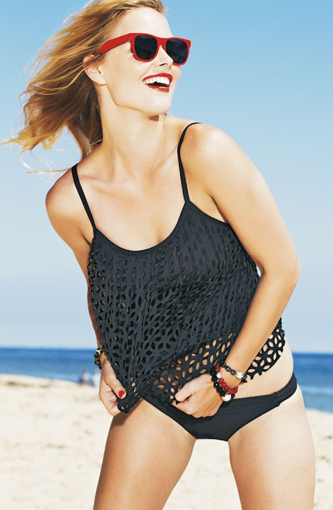 Alternate Image 7  - Luxe by Lisa Vogel 'Sway' Tankini Top
