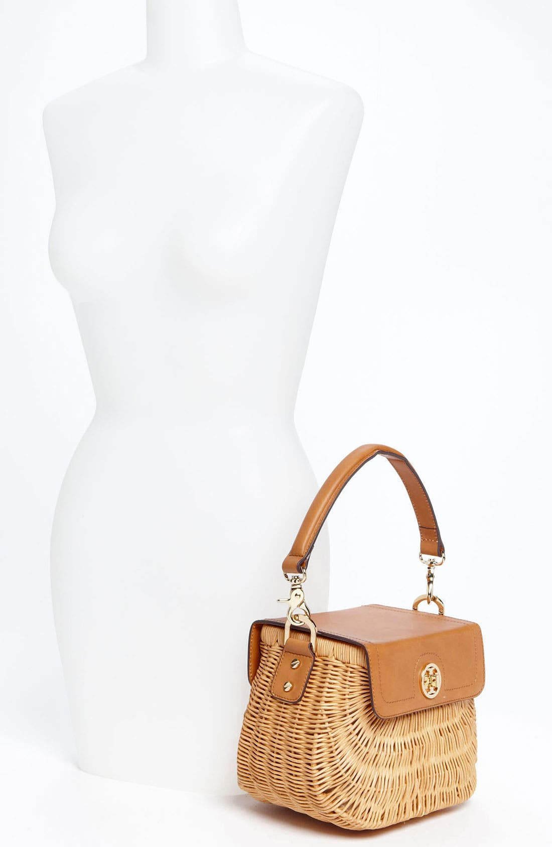 Alternate Image 2  - Tory Burch 'Lac' Rattan Handbag
