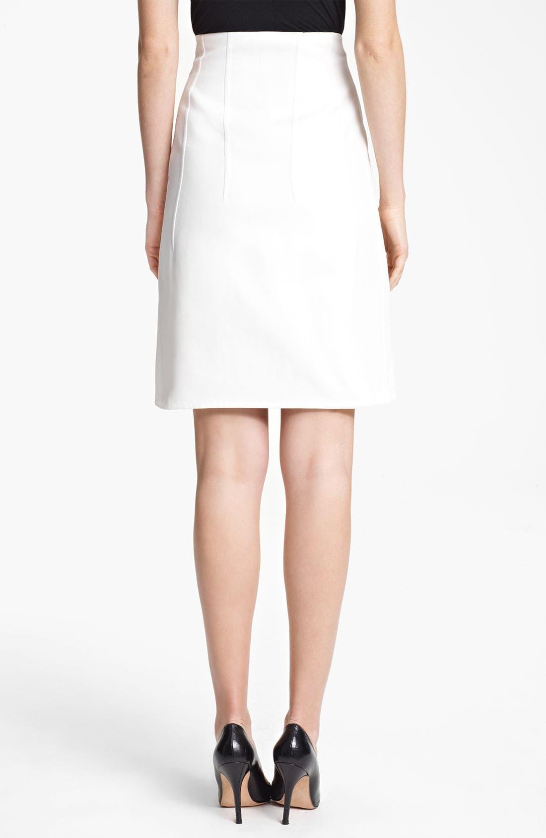 Alternate Image 2  - Jil Sander Gabardine Skirt