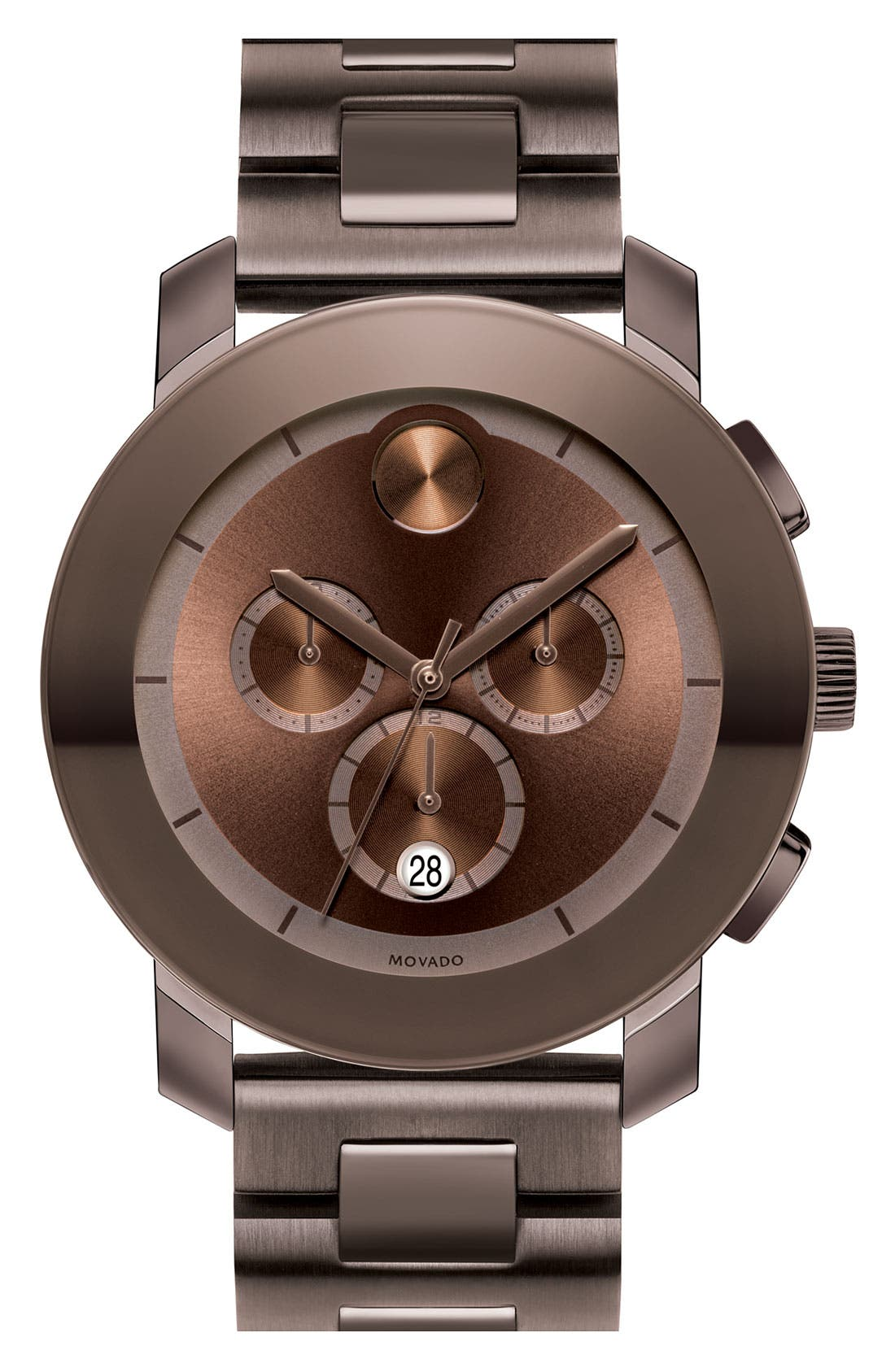Main Image - Movado 'Large Bold Chronograph' Bracelet Watch