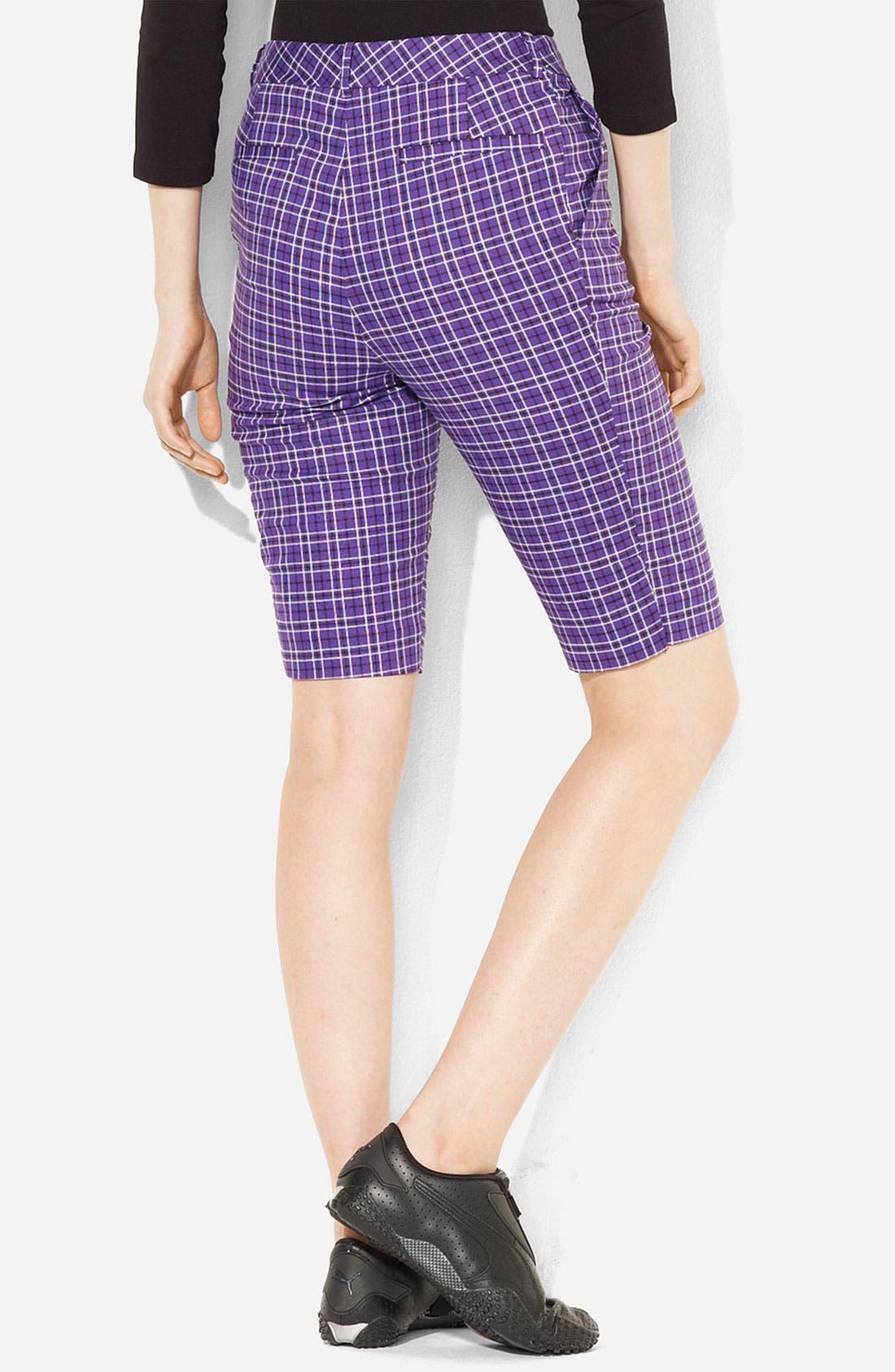 Alternate Image 2  - Lauren Ralph Lauren Plaid Bermuda Shorts (Petite)