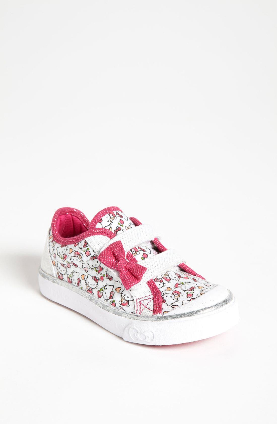 Alternate Image 1 Selected - Keds® 'Scribble Kitty' Sneaker (Walker & Toddler)