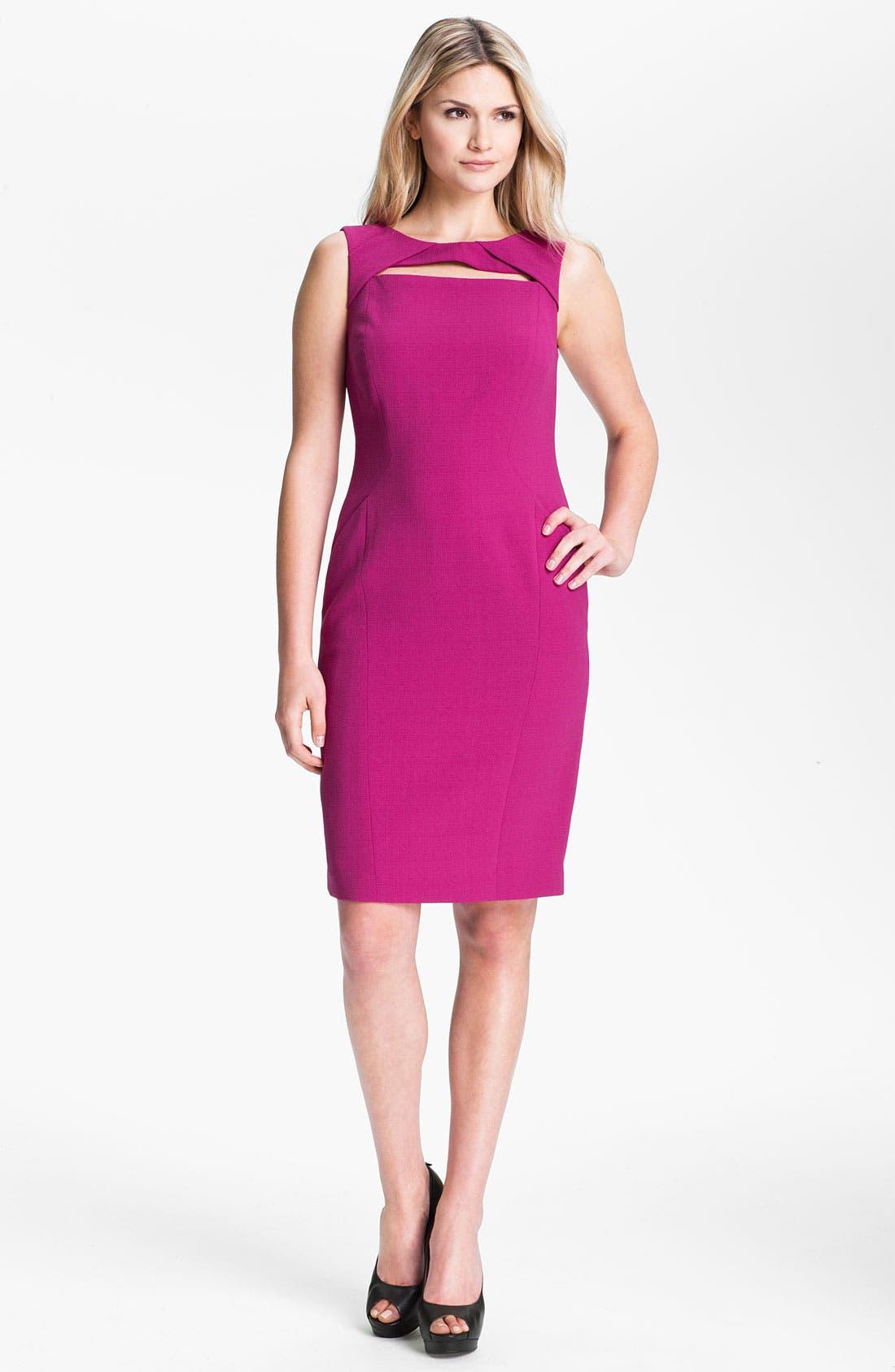 Alternate Image 1 Selected - Anne Klein Sleeveless Sheath Dress