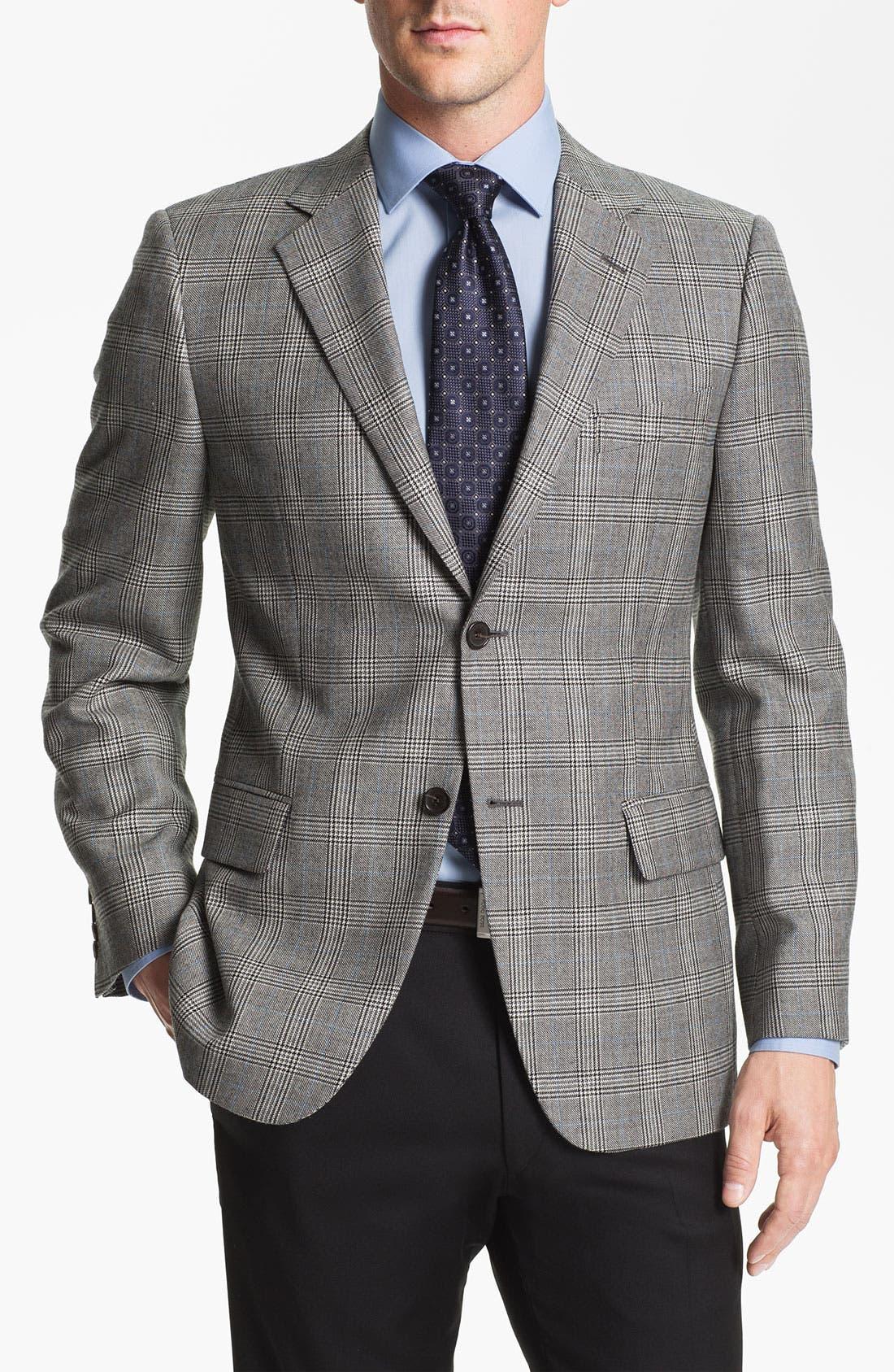 Main Image - John W. Nordstrom® Signature Plaid Sportcoat