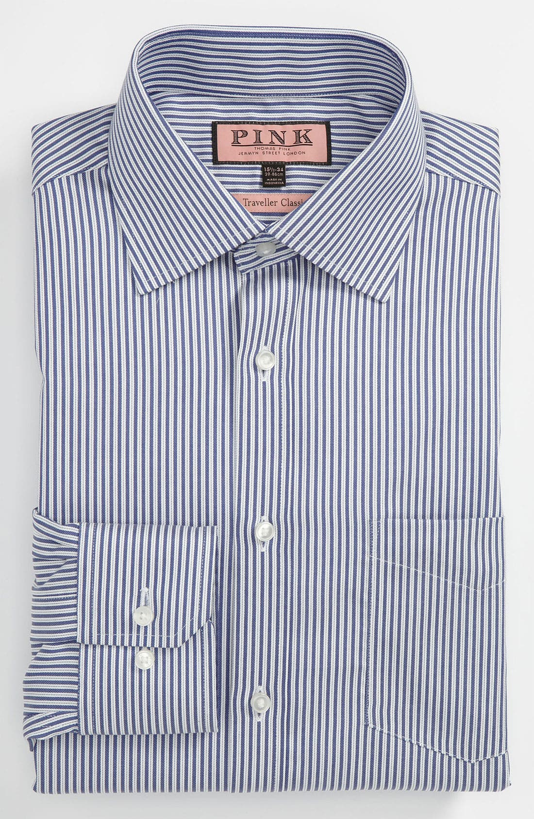 Main Image - Thomas Pink Classic Fit Traveller Dress Shirt