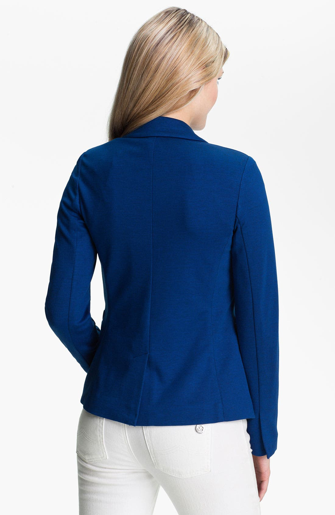Alternate Image 2  - MICHAEL Michael Kors Structured Knit Blazer