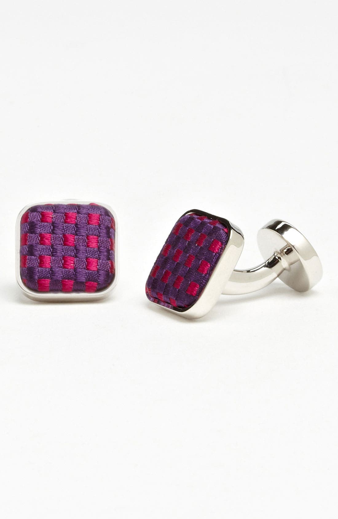 Alternate Image 1 Selected - Thomas Pink 'Warren' Silk Cuff Links