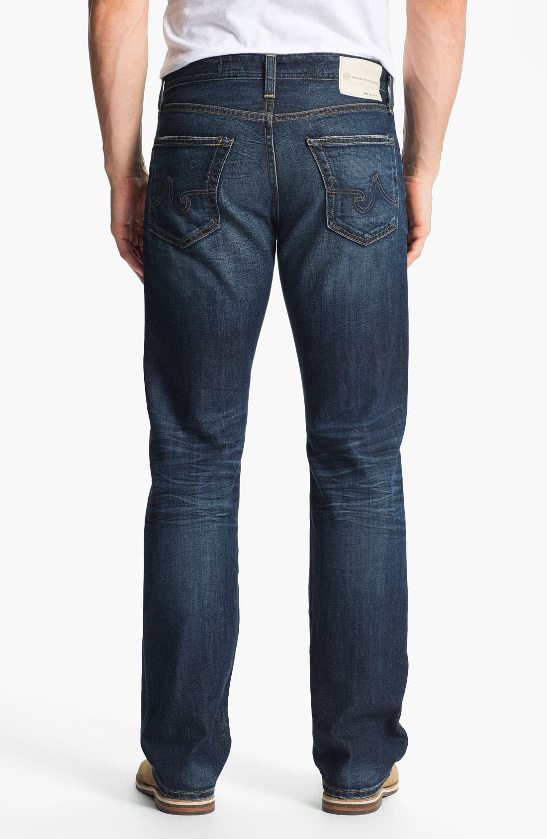 Alternate Image 2  - AG Jeans 'Protégé' Straight Leg Jeans (8-Year Lounge)