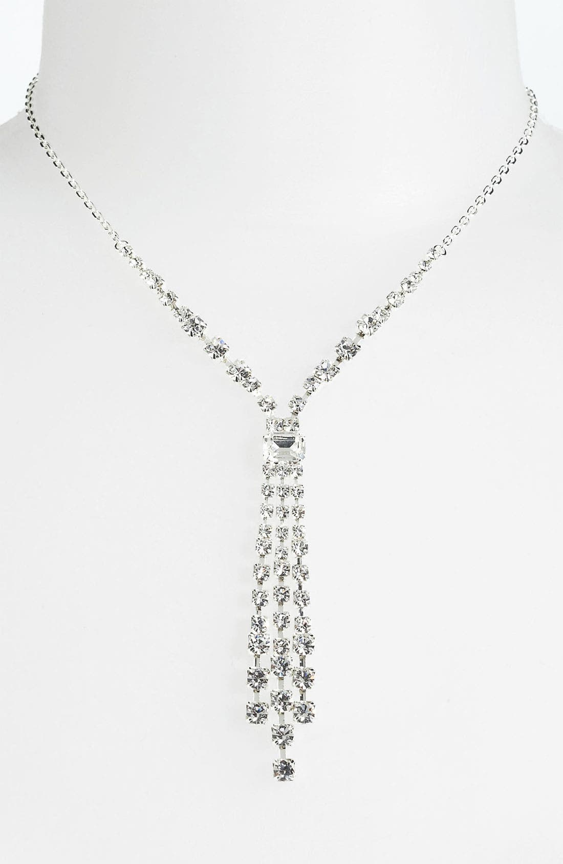 Alternate Image 2  - Rosa Crystal Collection Jewelry Y-Necklace