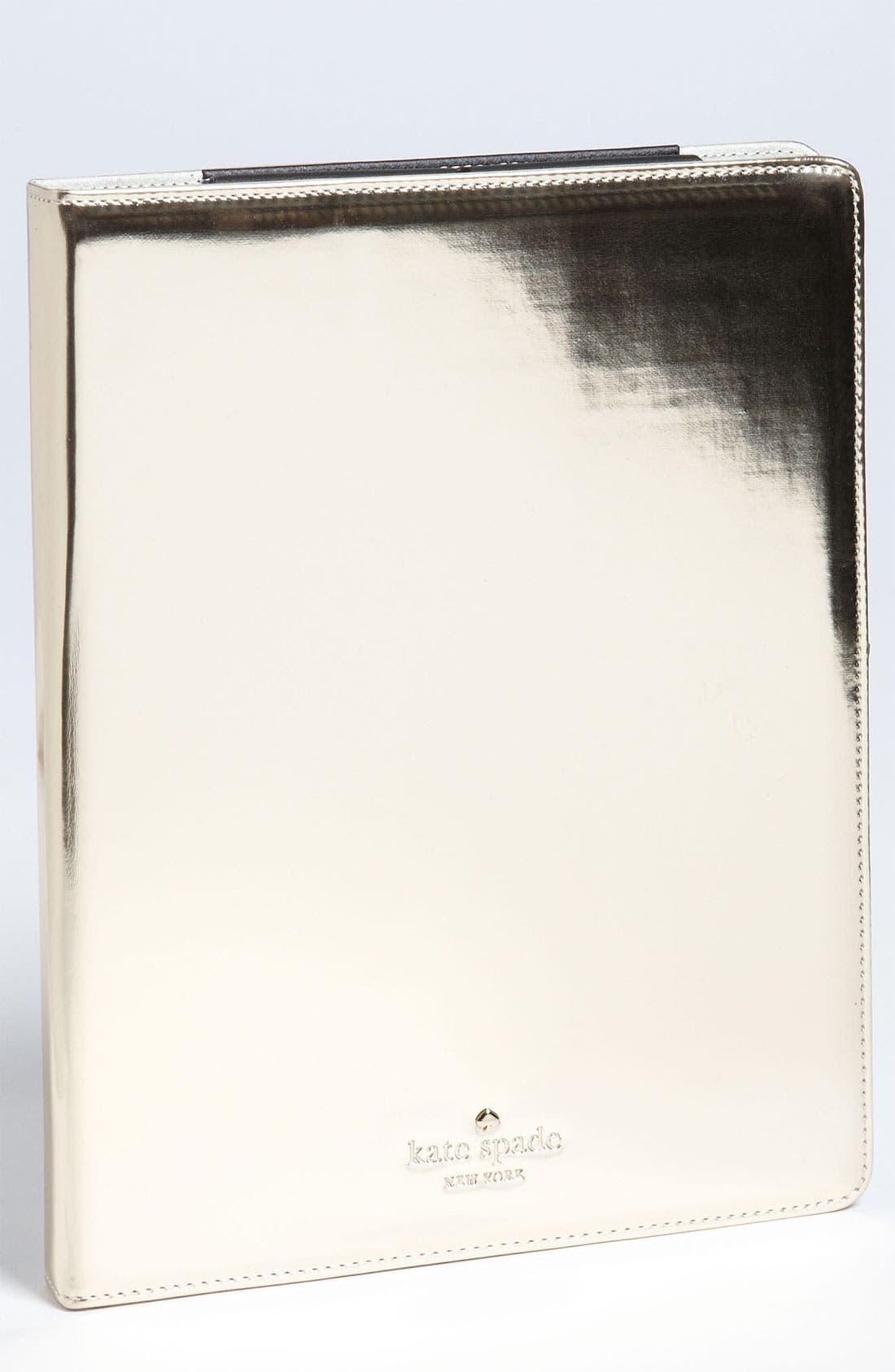 Main Image - kate spade new york iPad 2 & 3 folio