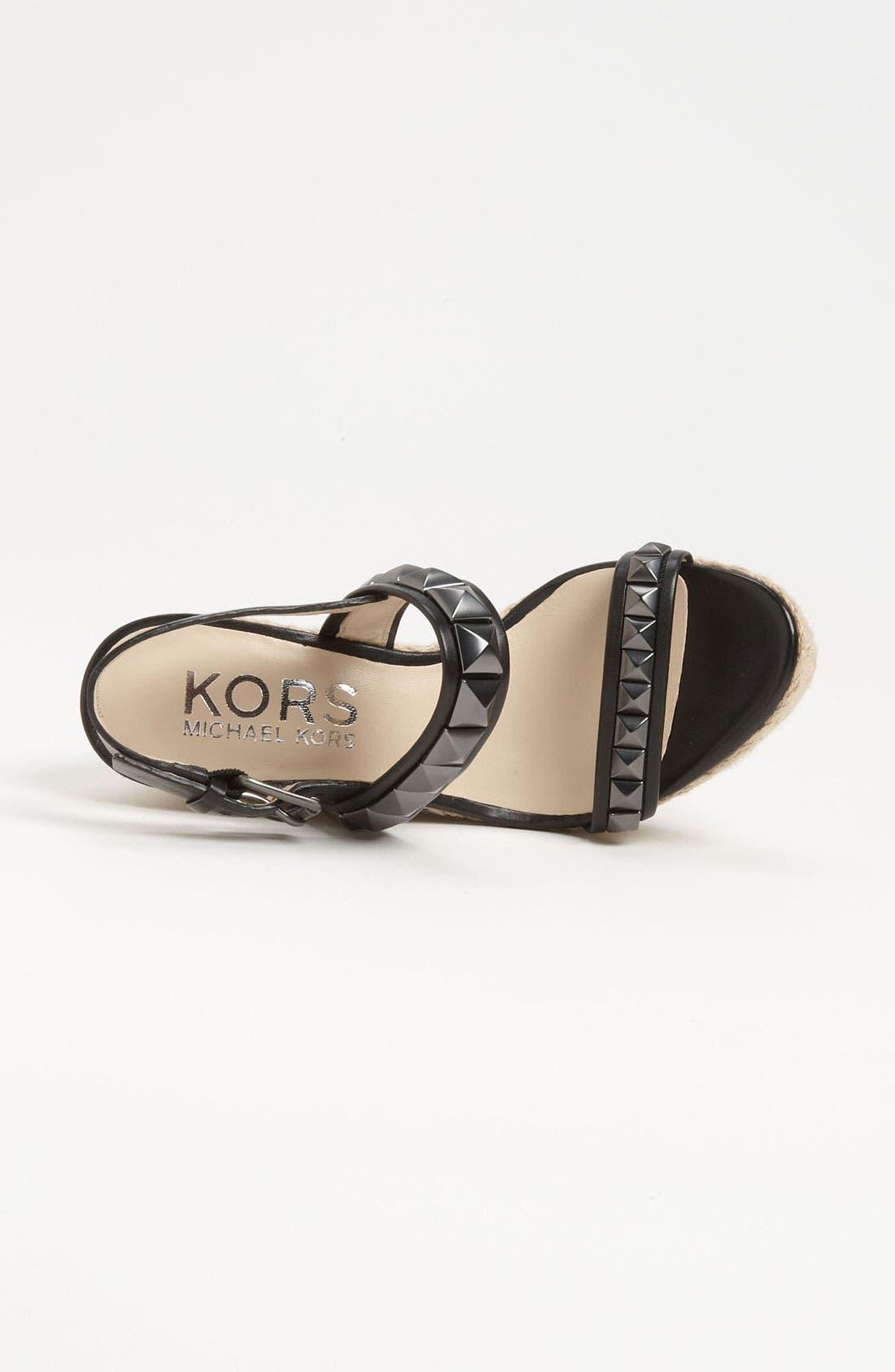 Alternate Image 3  - KORS Michael Kors 'Corban' Wedge Sandal