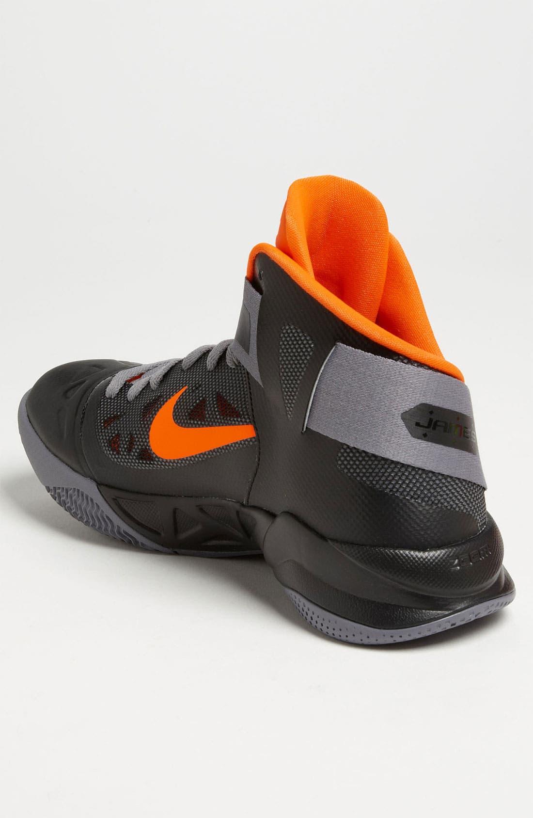 Alternate Image 2  - Nike 'Zoom Soldier VI' Basketball Shoe (Men) (Online Exclusive)