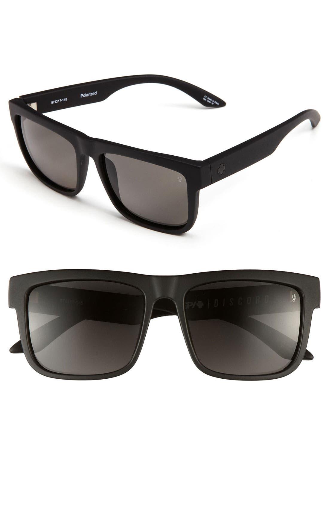 Main Image - SPY Optic 'Discord' 57mm Polarized Sunglasses