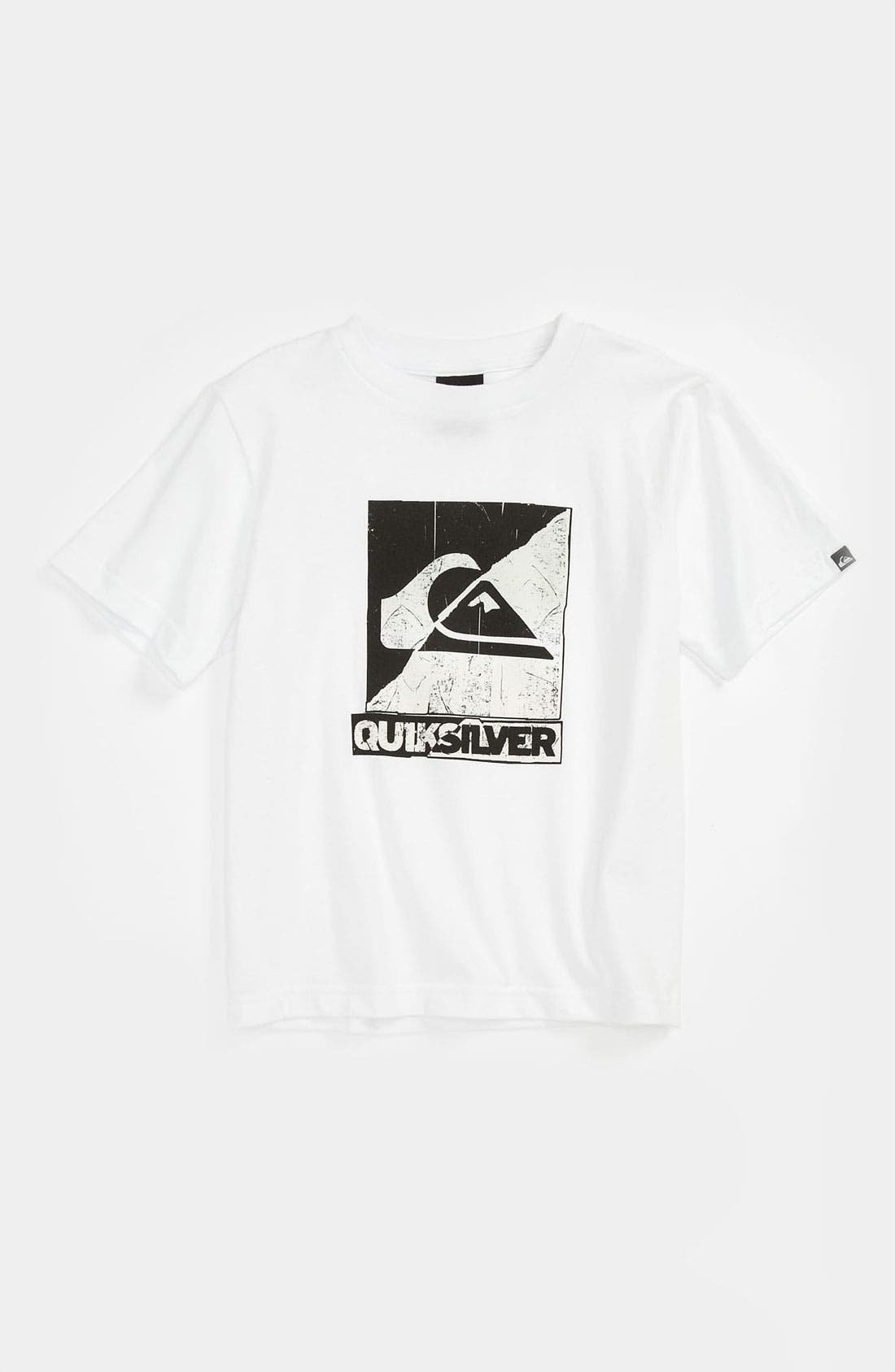 Main Image - Quiksilver 'Sunny Side Up' T-Shirt (Little Boys)