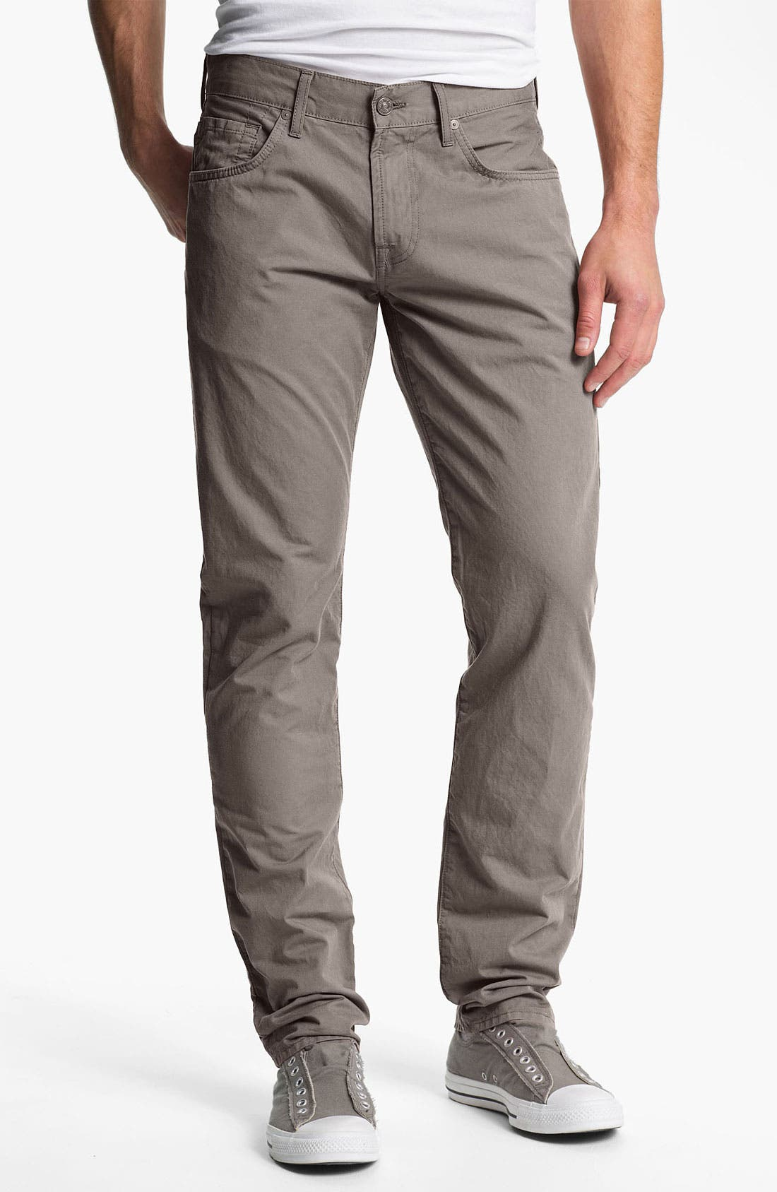 Alternate Image 2  - 7 For All Mankind® 'The Straight' Straight Leg Jeans (Cinder)