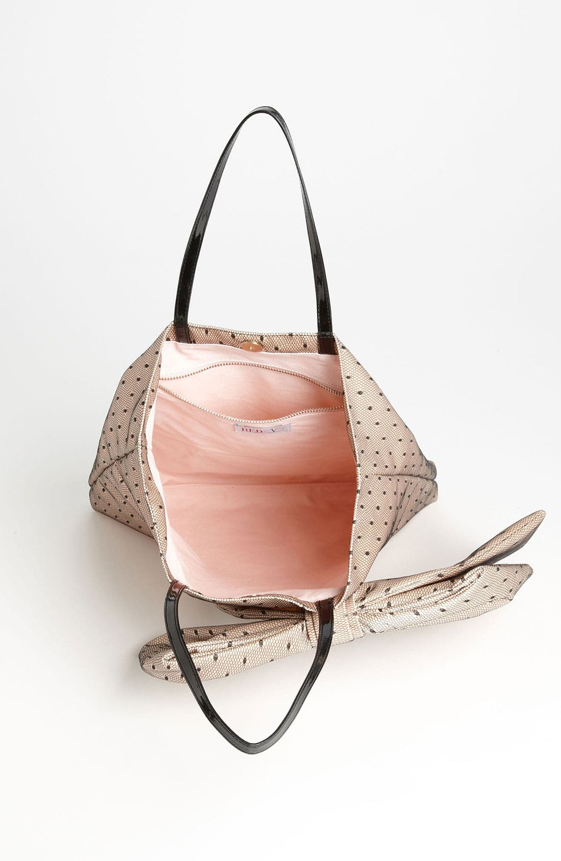 Alternate Image 3  - RED Valentino 'Bow' Point D'Esprit Tote