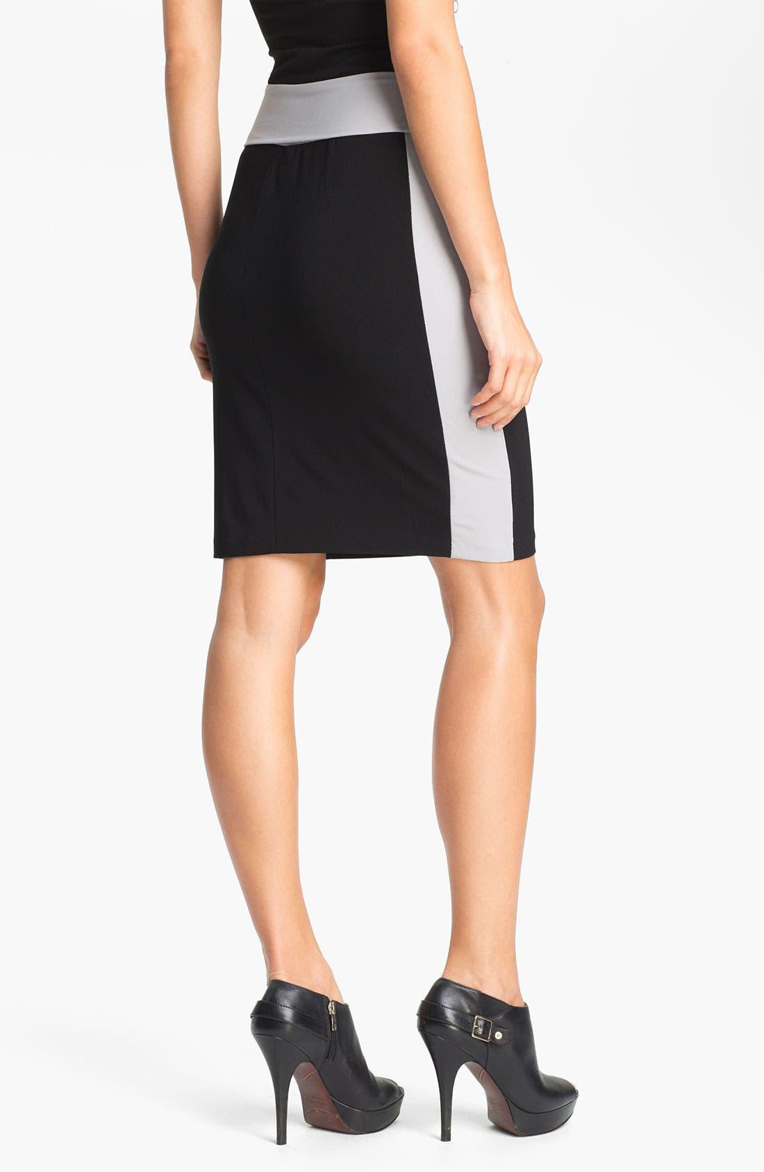 Alternate Image 2  - KAMALIKULTURE Side Stripe Skirt