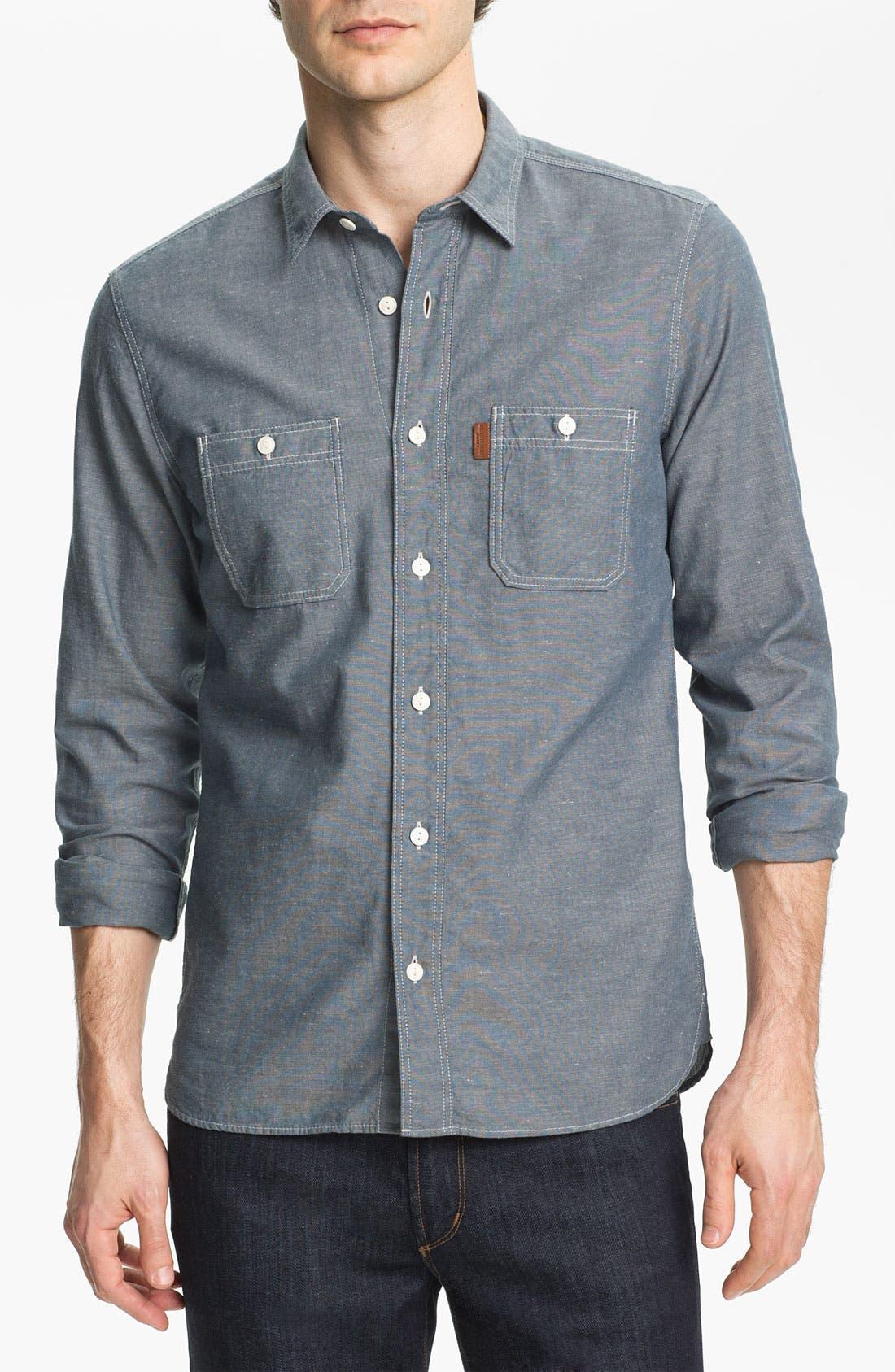 Main Image - Burberry Brit Denim Sport Shirt