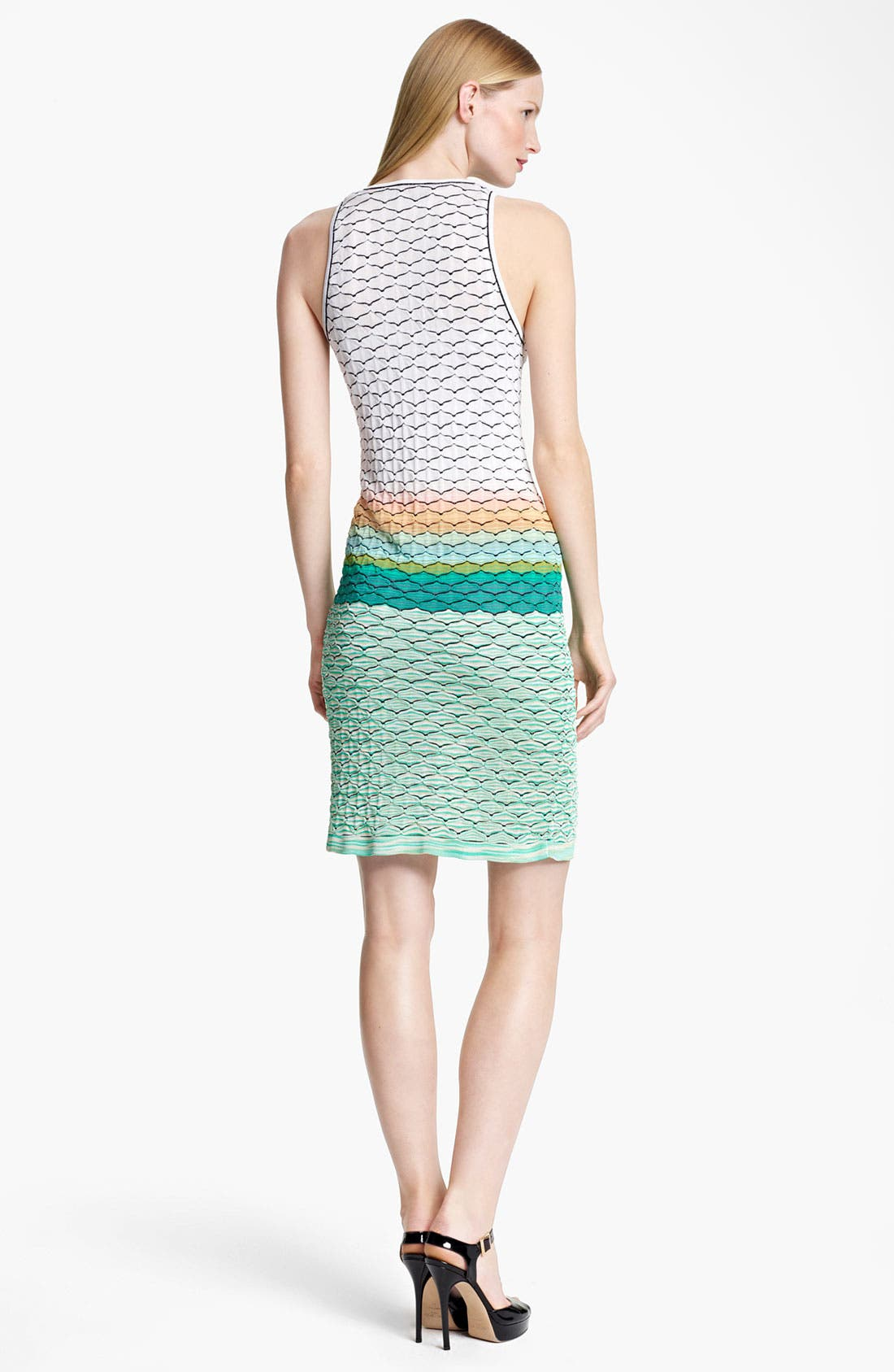 Alternate Image 2  - Missoni Seagull Stitch Knit Dress