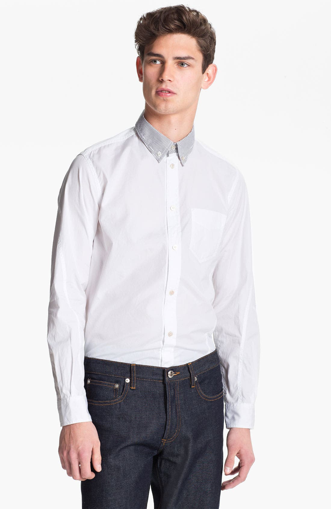 Alternate Image 1 Selected - U Clothing 'Tate' Woven Shirt