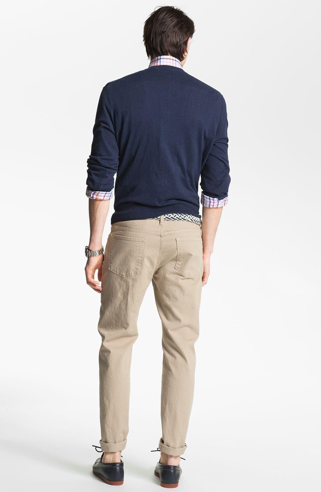 Alternate Image 5  - Robert Talbott Regular Fit Sport Shirt