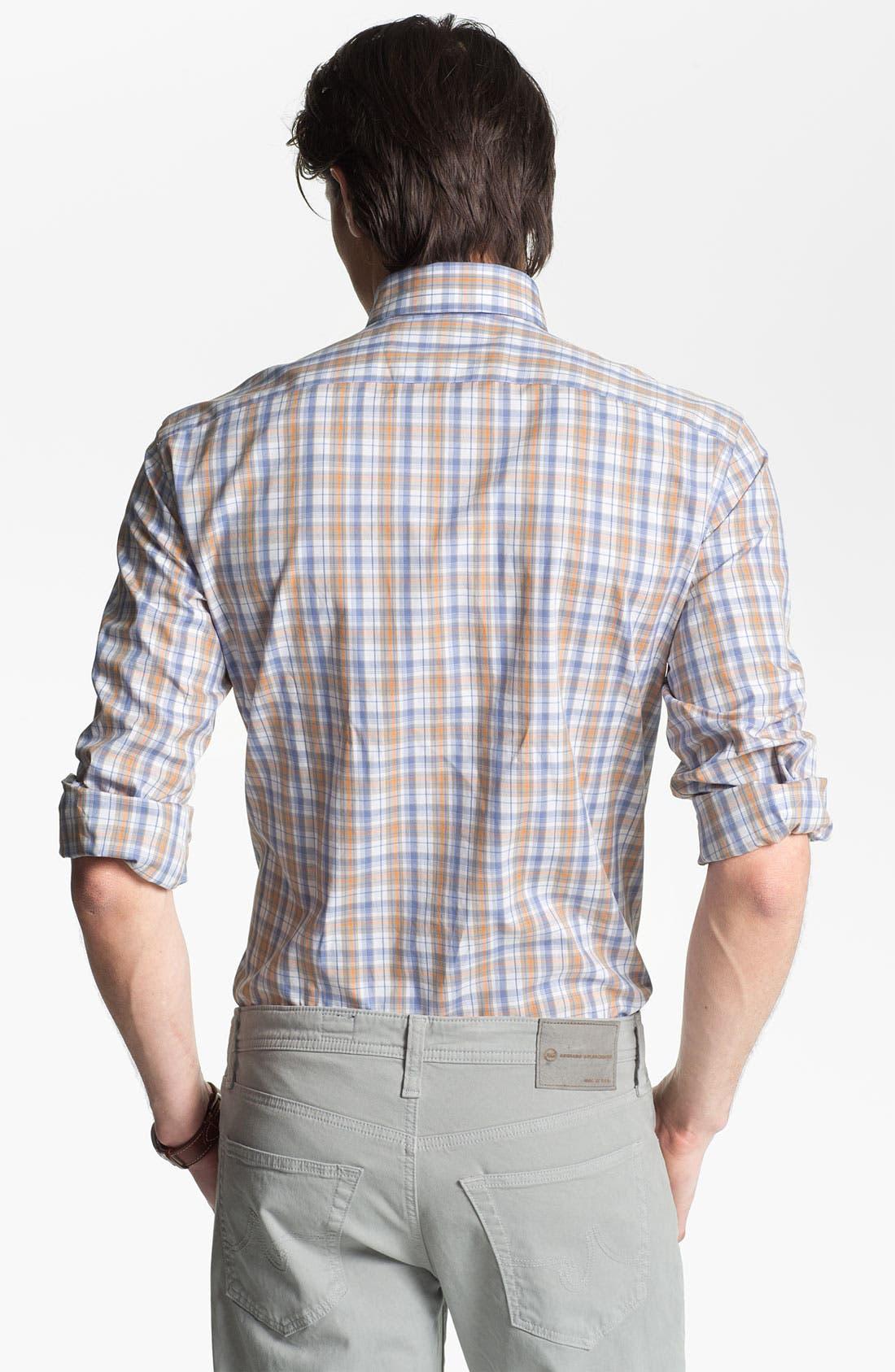 Alternate Image 2  - Maker & Company Regular Fit Sport Shirt (Online Only)