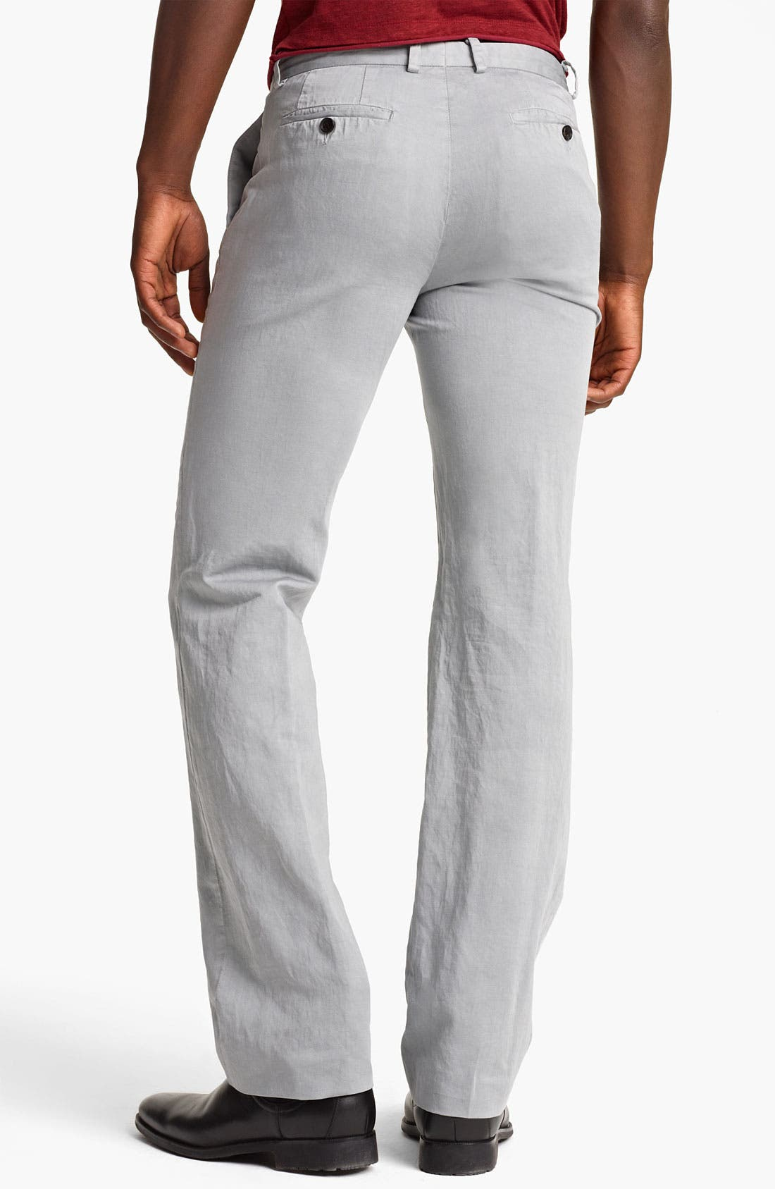 Alternate Image 2  - John Varvatos Collection Straight Leg Pants