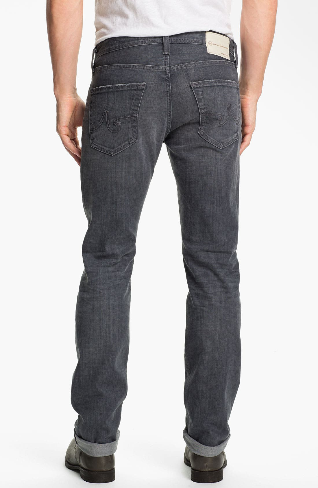 Alternate Image 2  - AG Jeans 'Matchbox' Slim Fit Jeans (7 Year Grey)